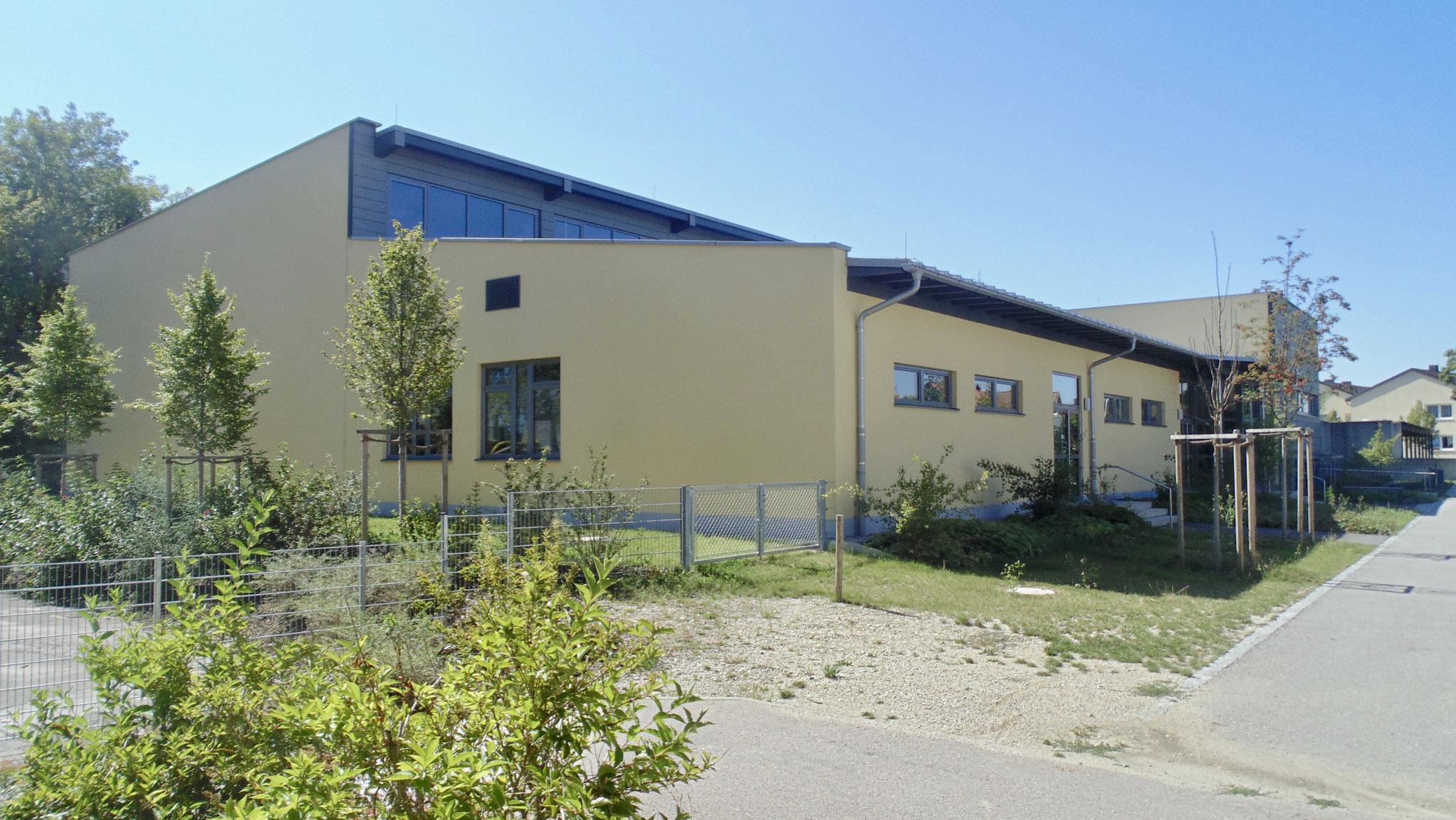 Neubau Einfachsporthalle der Grund- und Mittelschule Ergolding 2015