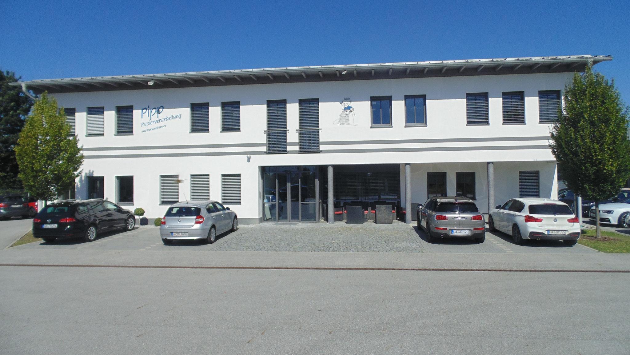 Neuabau Betriebsgebäude/Papierverarbeitsbetireb Firma Pipp, Essenbach 2009