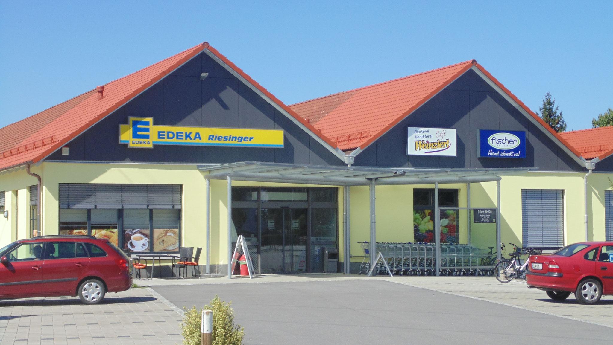 Erweiterung Lebensmittelmarkt, Niederaichbach 2015