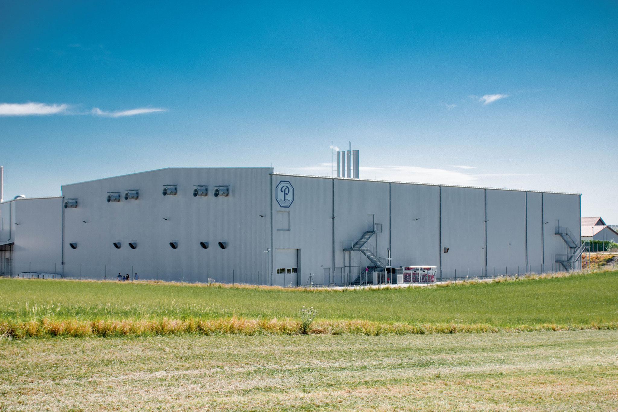 Pöschl Tabak, Errichtung einer neuen Produktionshalle, Vilsbiburg 2012