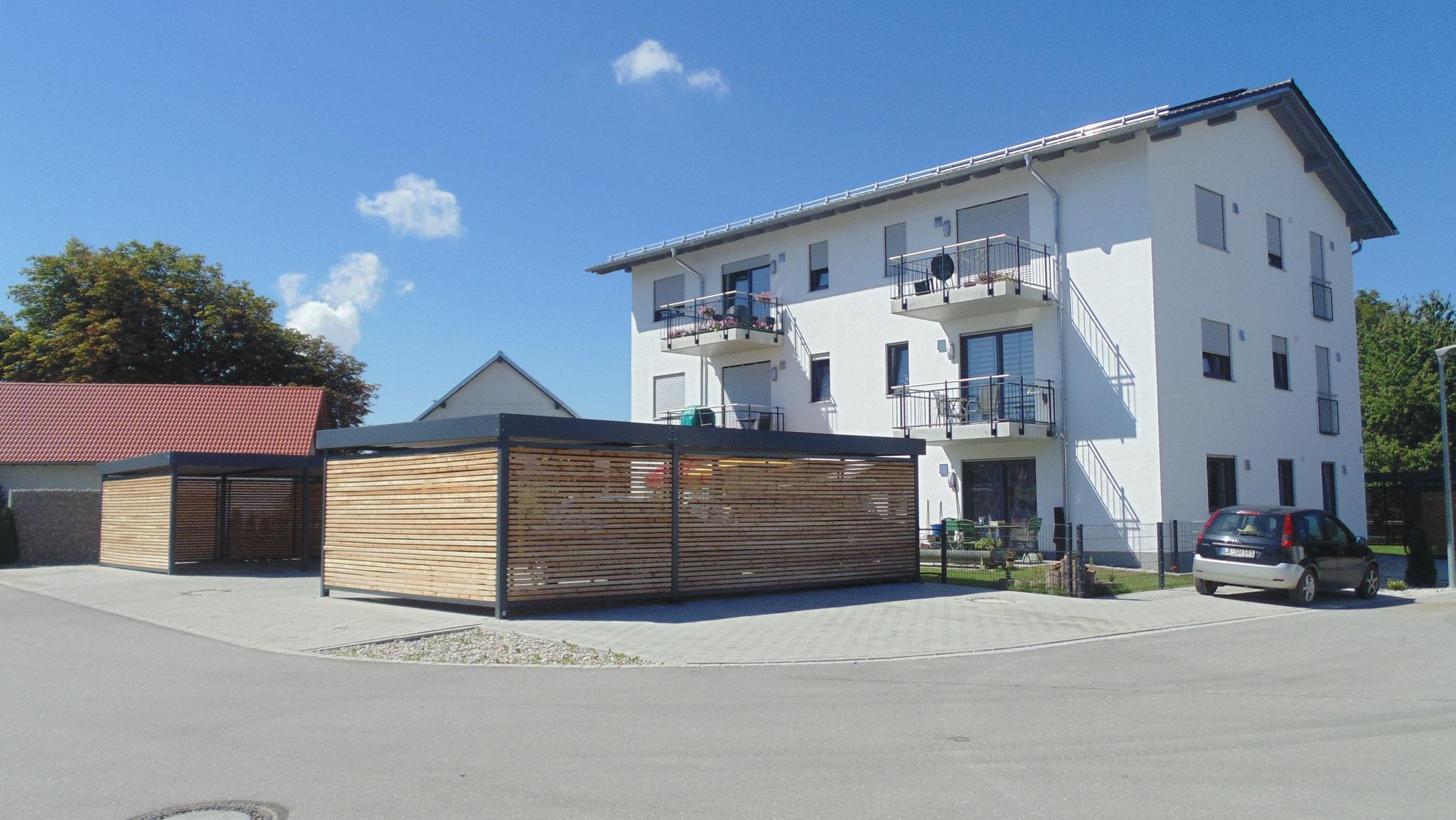 Neubau von 2 Mehrfamilienwohnhäusern mit 6 Wohneinheiten, Niederaichbach 2016 - Gebäude 2
