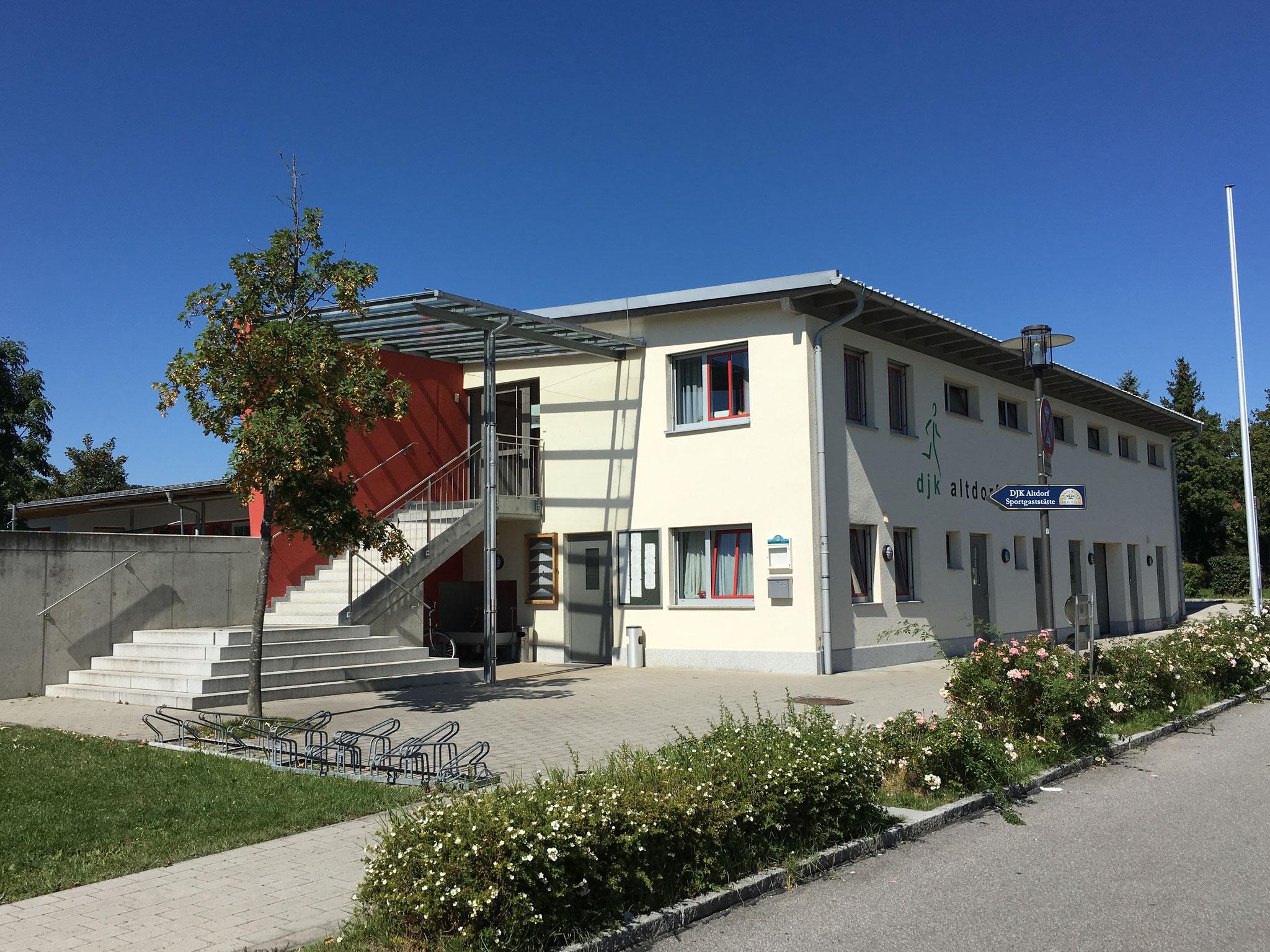 Neubau Vereinsgebäude, Altdorf 2008