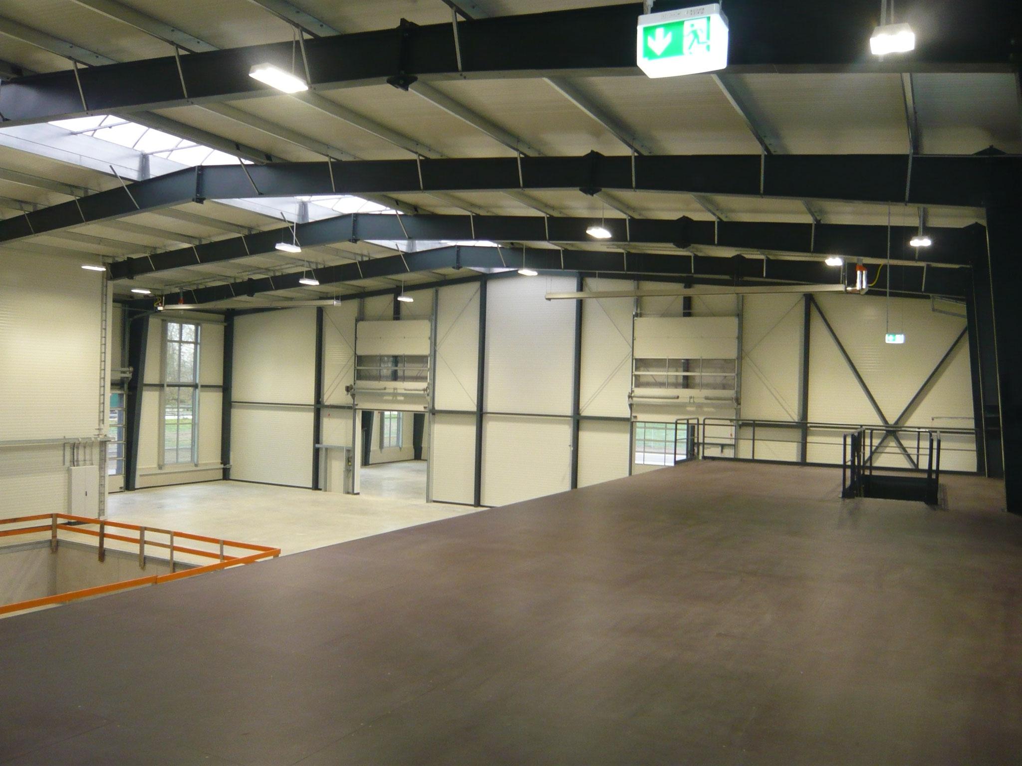 Neubau Betriebsgebäude Firma Lange GmbH, Essenbach 2014 - Innenansicht