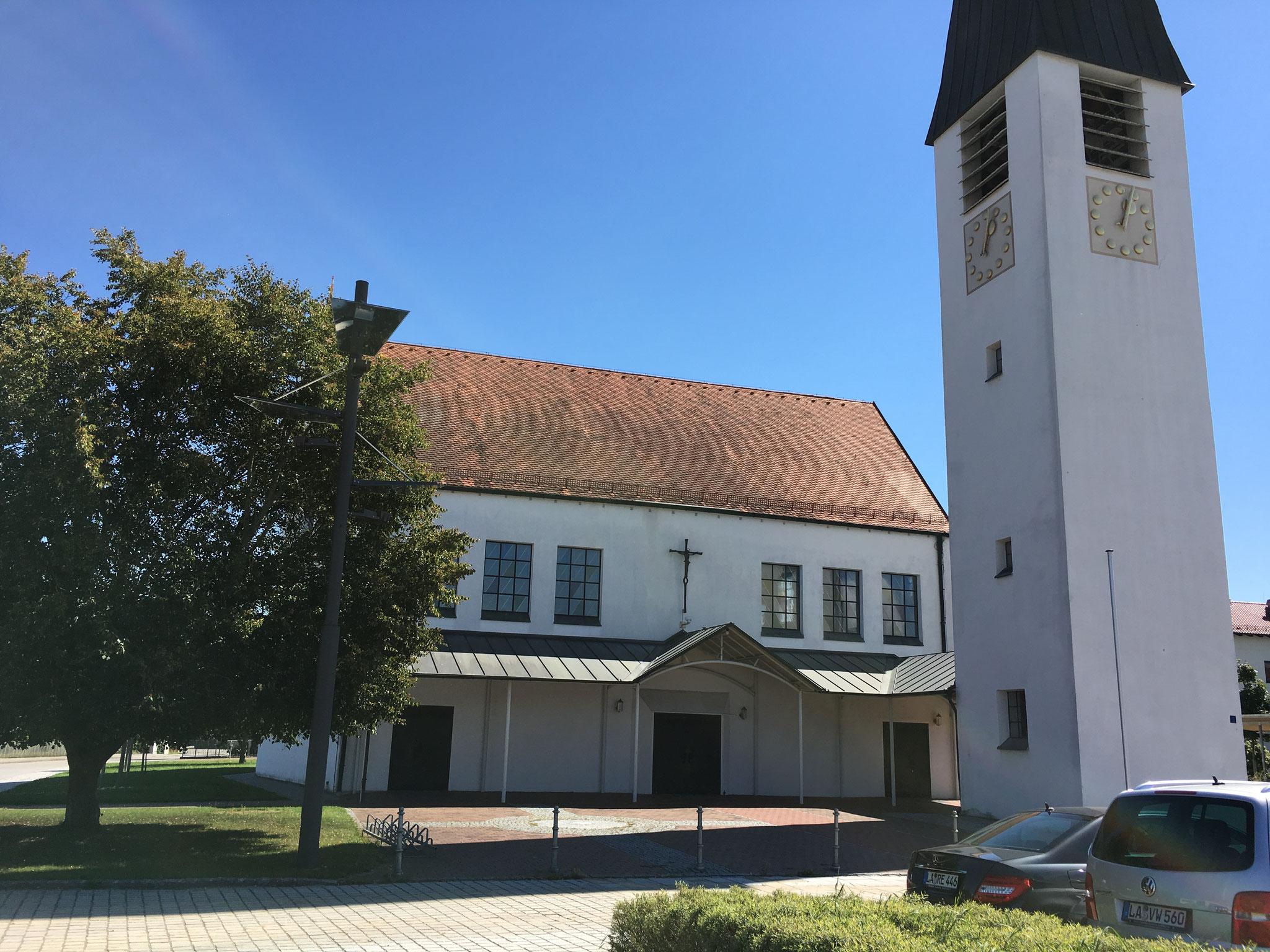 Erweiterung Kirche, Niederaichbach