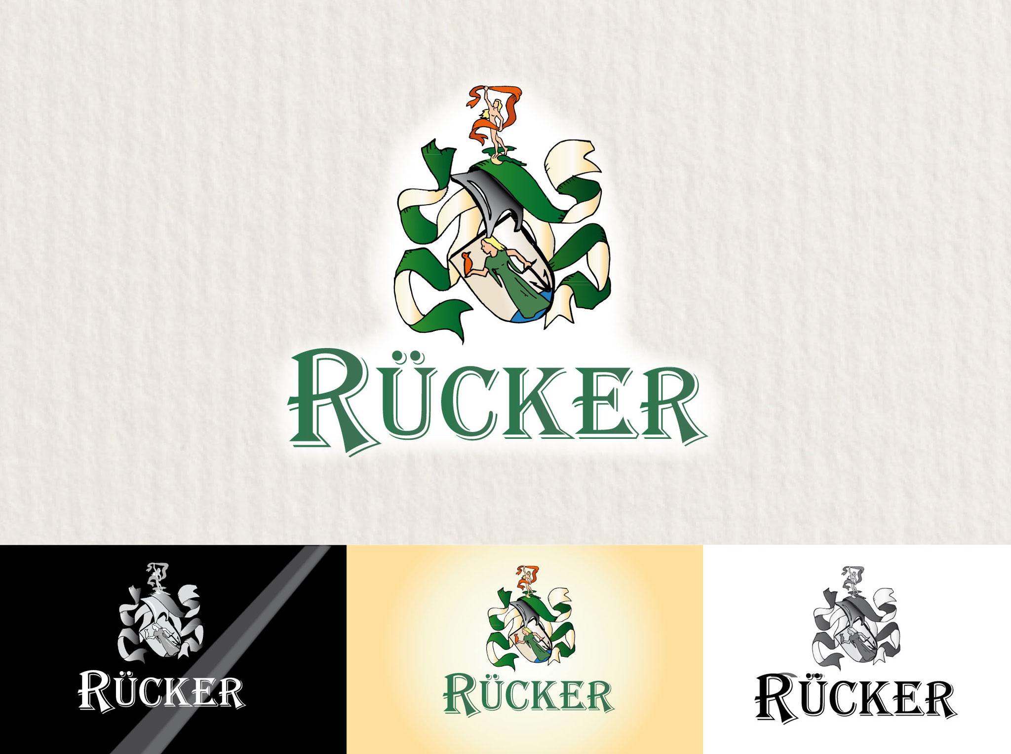 5 Wappen gestaltet von Winghardt Werbung
