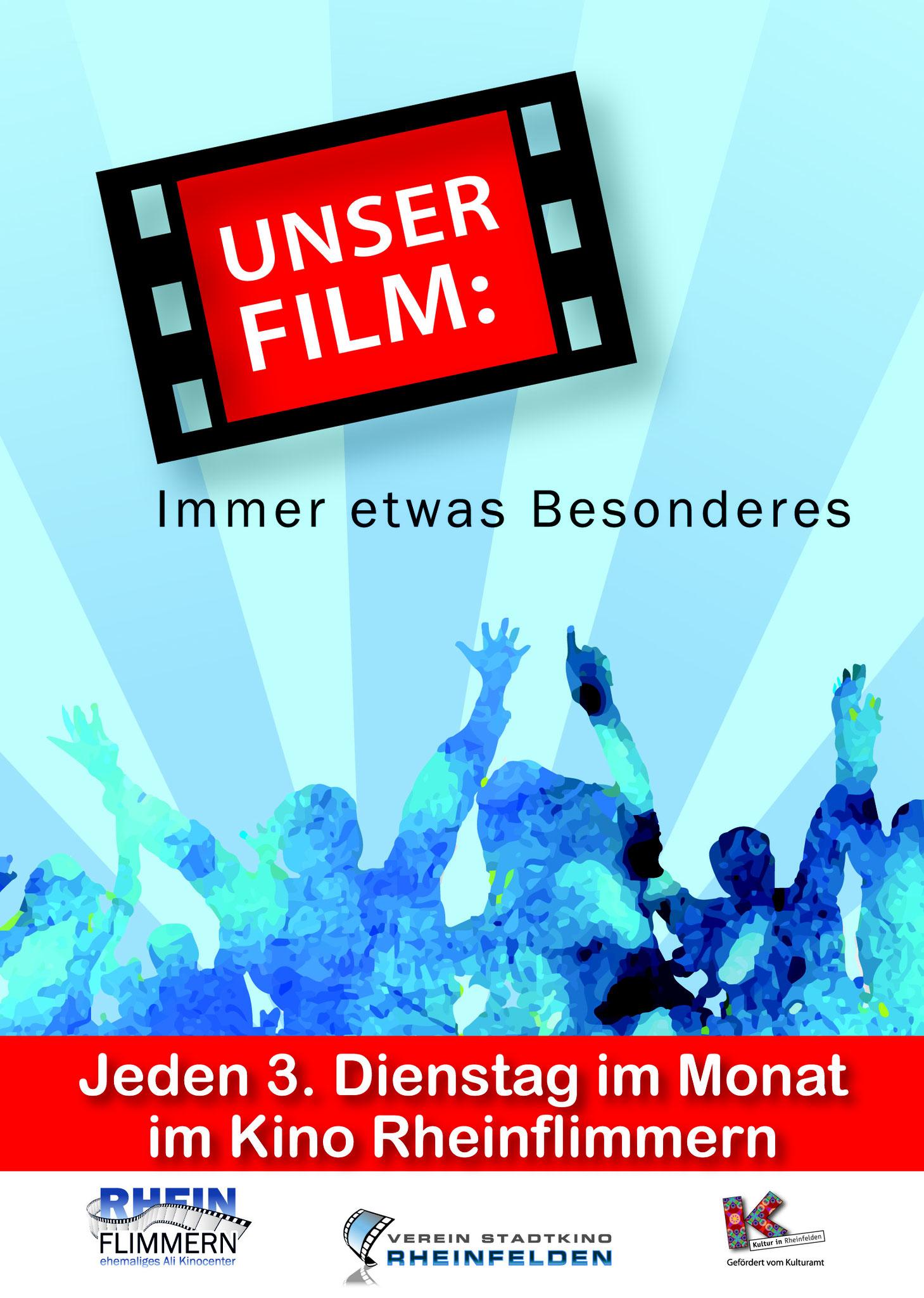 Kino Plakat Rheinfelden von Christine Winghardt Friedrichshafen