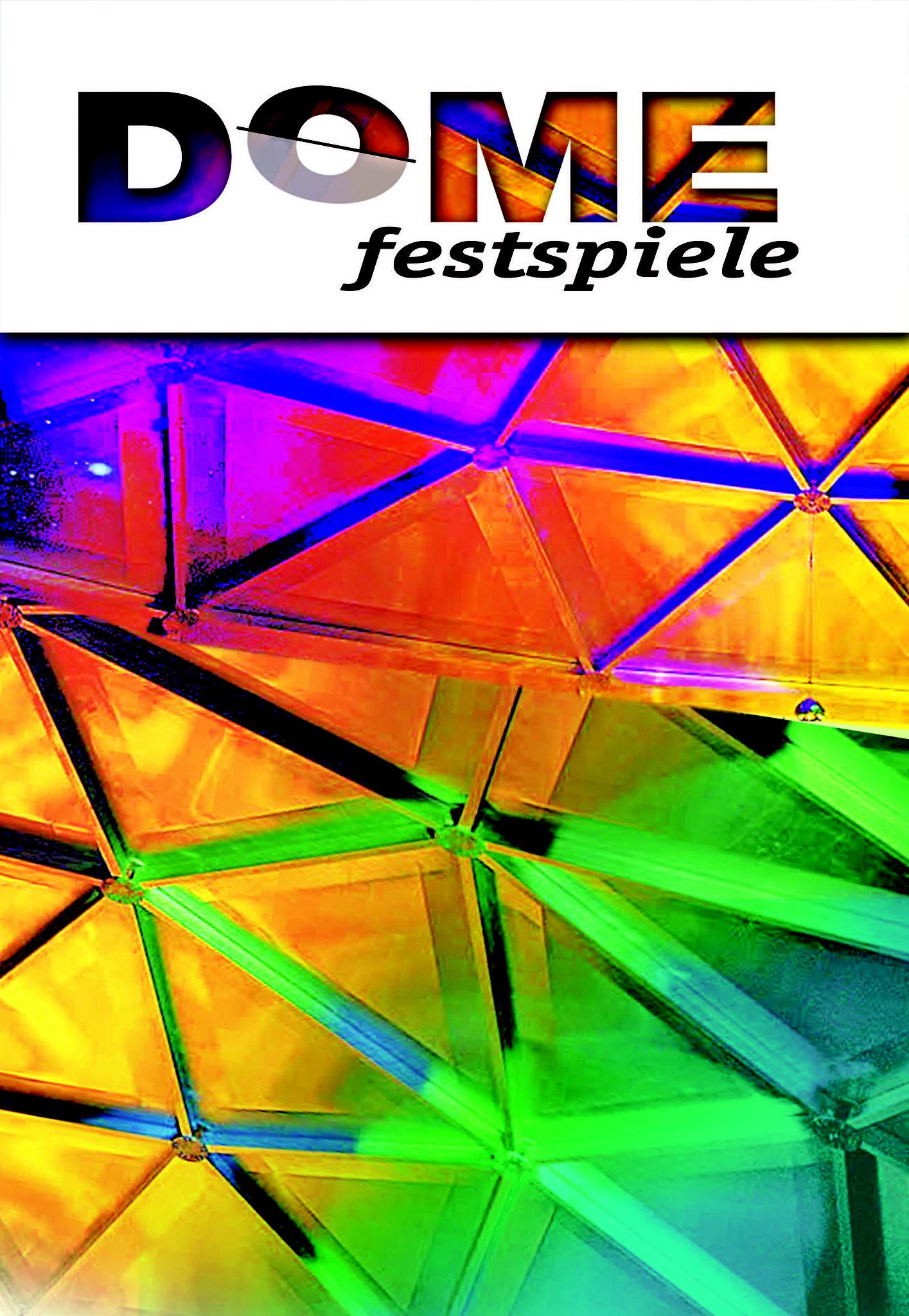 Dome Festspiele Plakat von Christine Winghardt Friedrichshafen