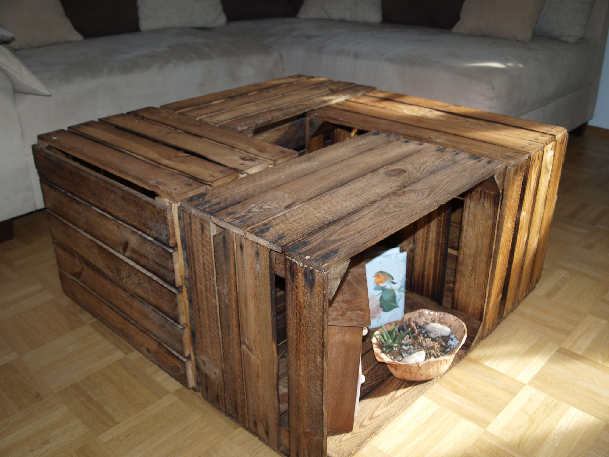 couchtisch aus obstkisten trendy couchtisch selber bauen obstkisten frisch aus paletten obi. Black Bedroom Furniture Sets. Home Design Ideas