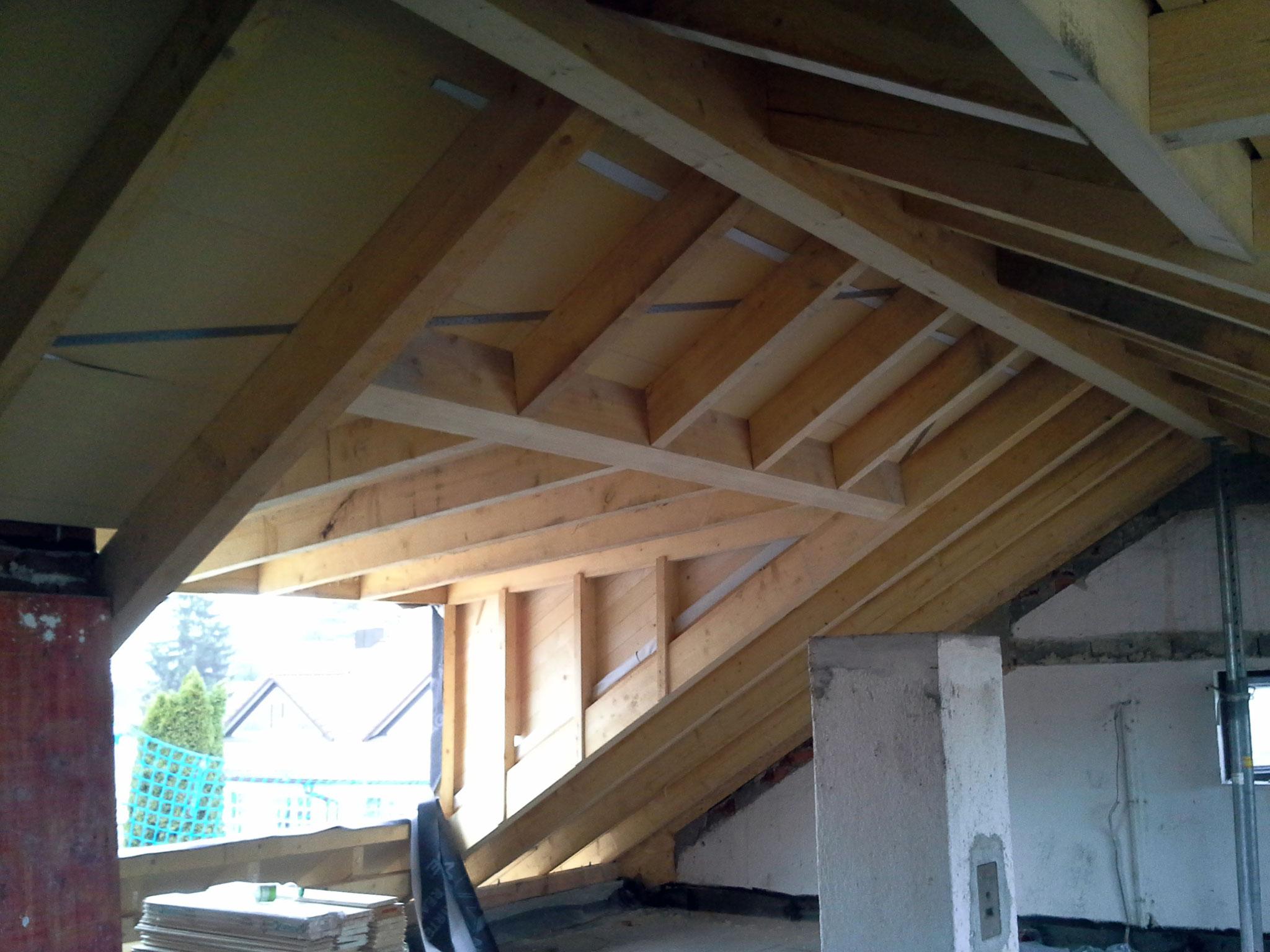 Satteldach mit Dachgaube