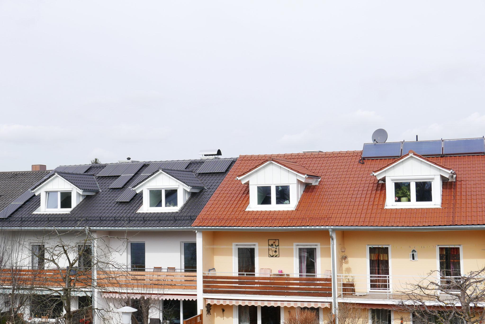 Dachsanierung mit Dachgauben