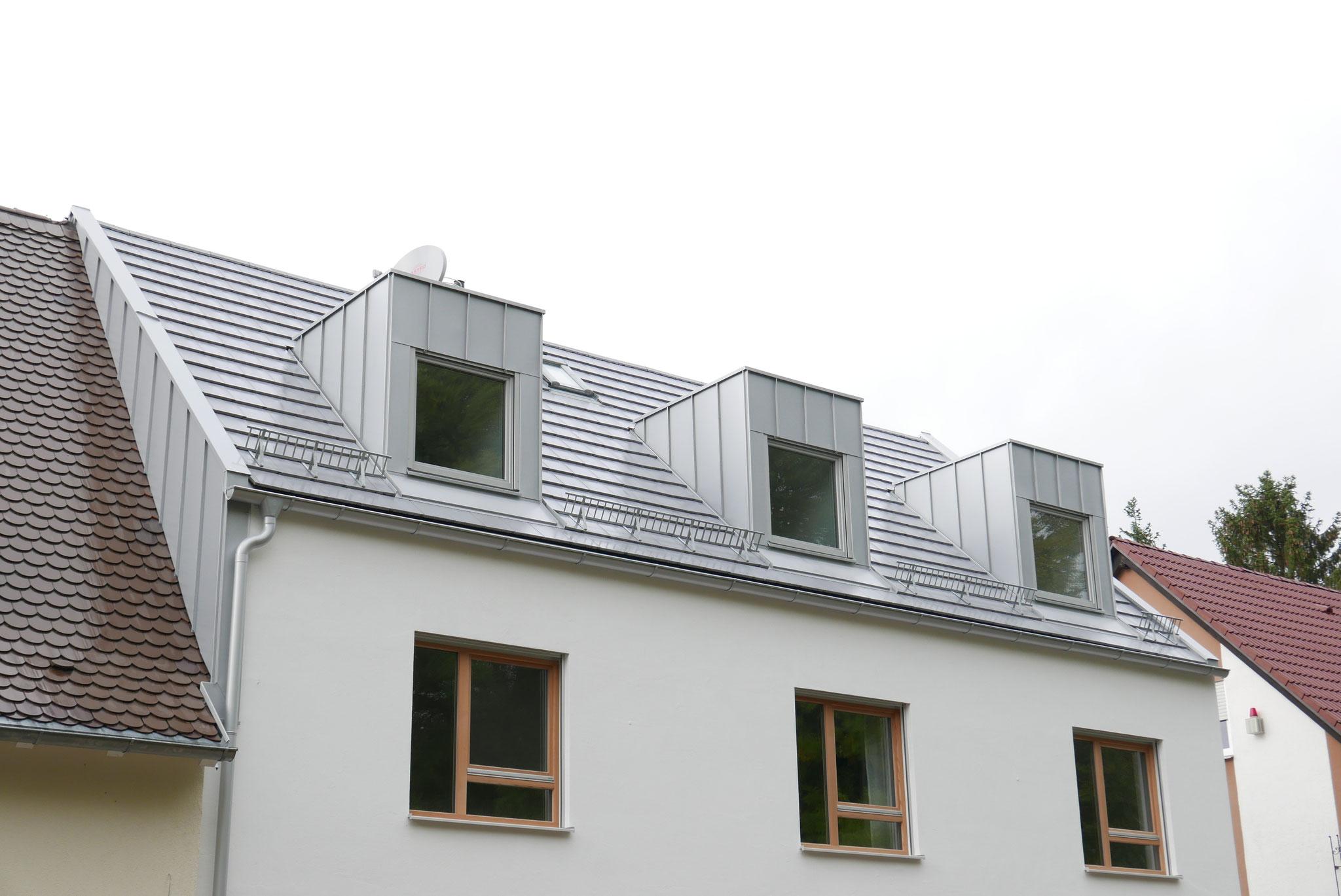 Prefa Farb-Aluminium Gaubenverkleidung / Kommunwand / Dachrinne