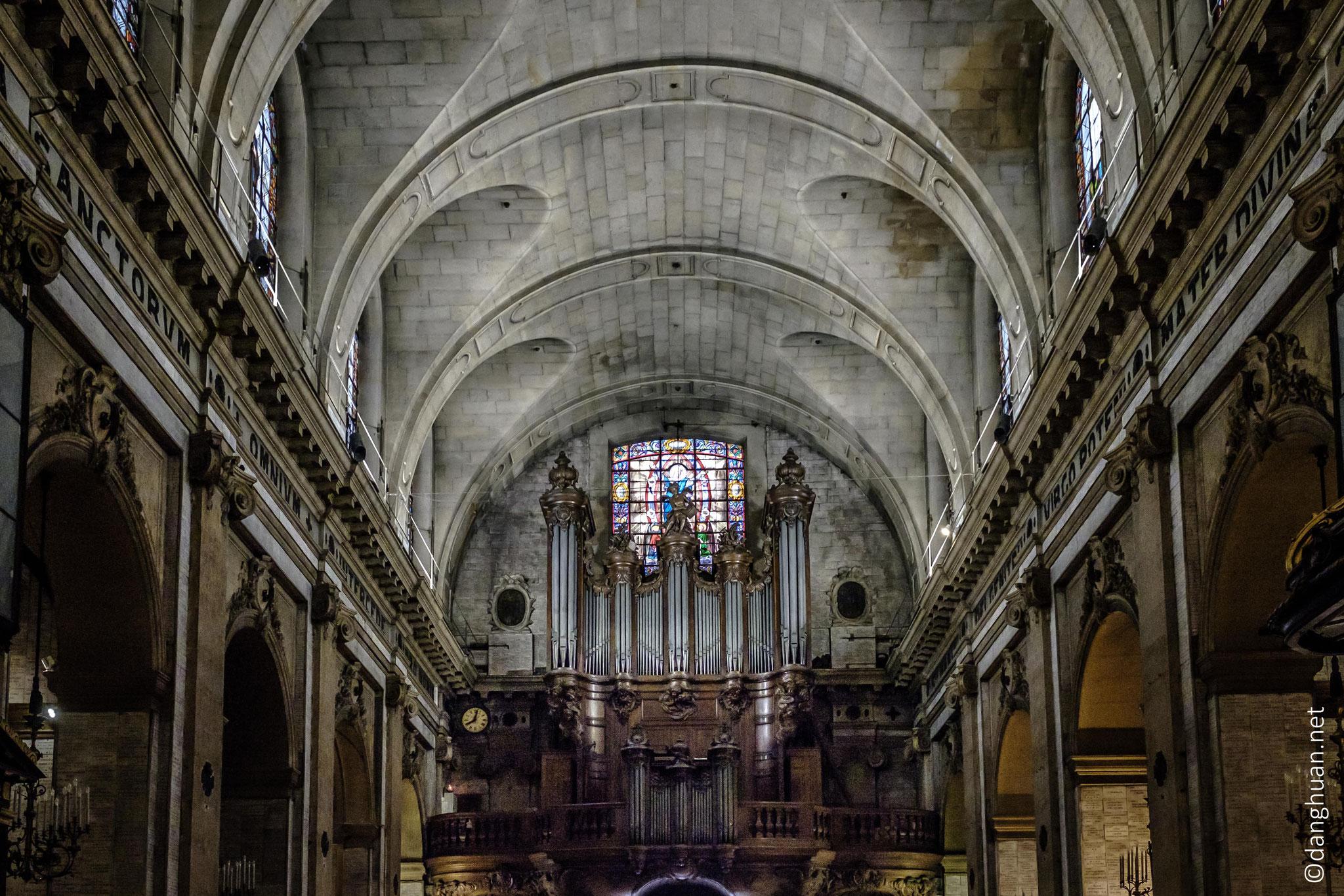Basilique Notre Dame des Victoires - l'orgue