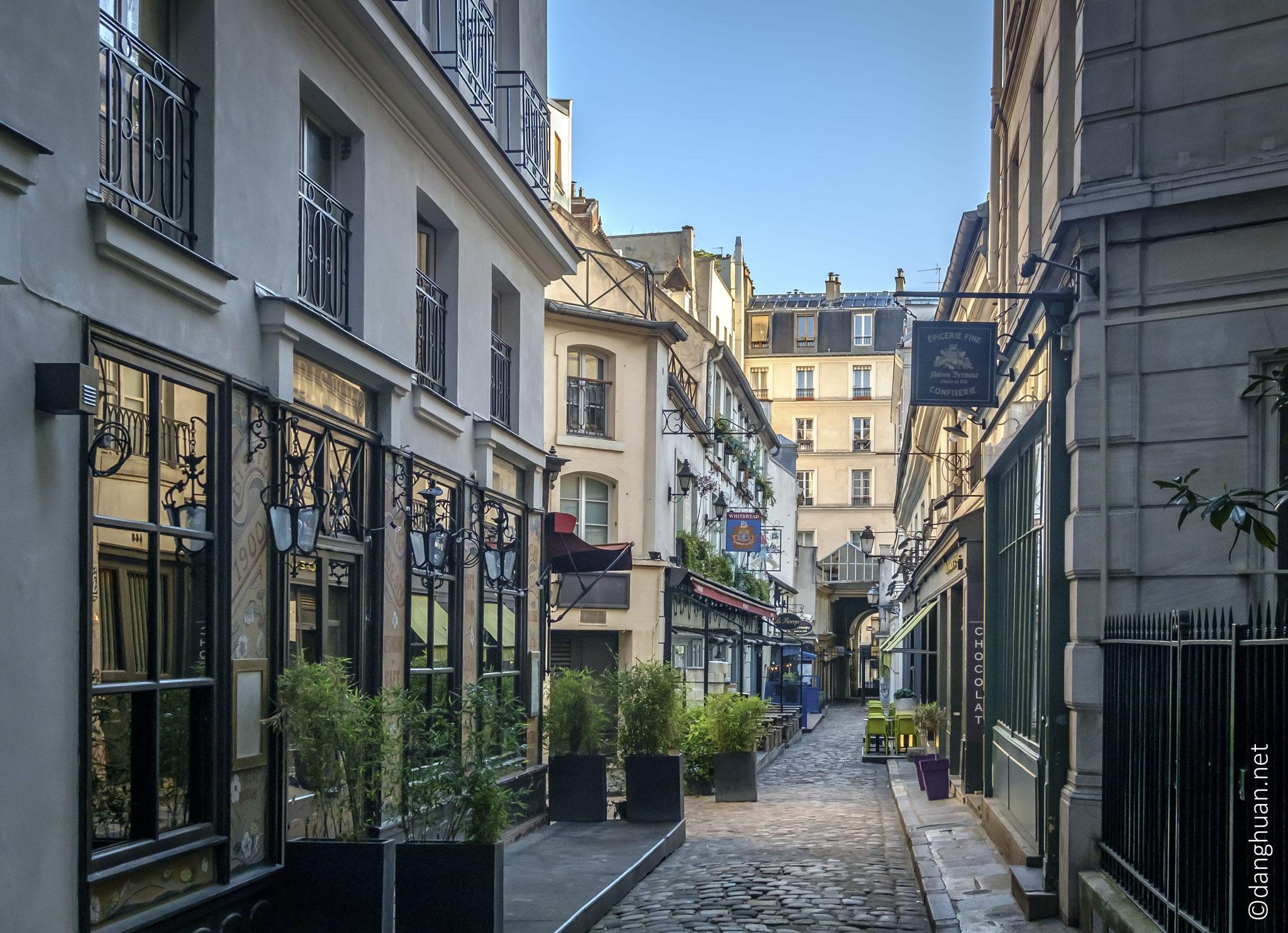 Passage St André Rohan : Beau petit passage en plein milieu du quartier latin...