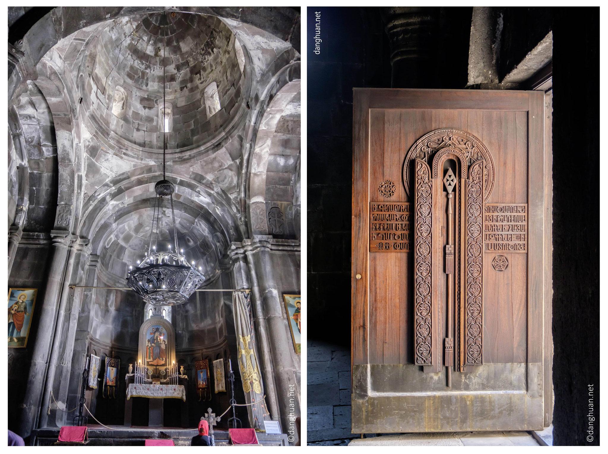 Le monastère fut détruit et pillé lors de l'occupation arabe. La plupart des manuscrits fut détruite. Le monastère fut reconstruit et encerclé par des fortifications, qui existent encore aujourd'hui