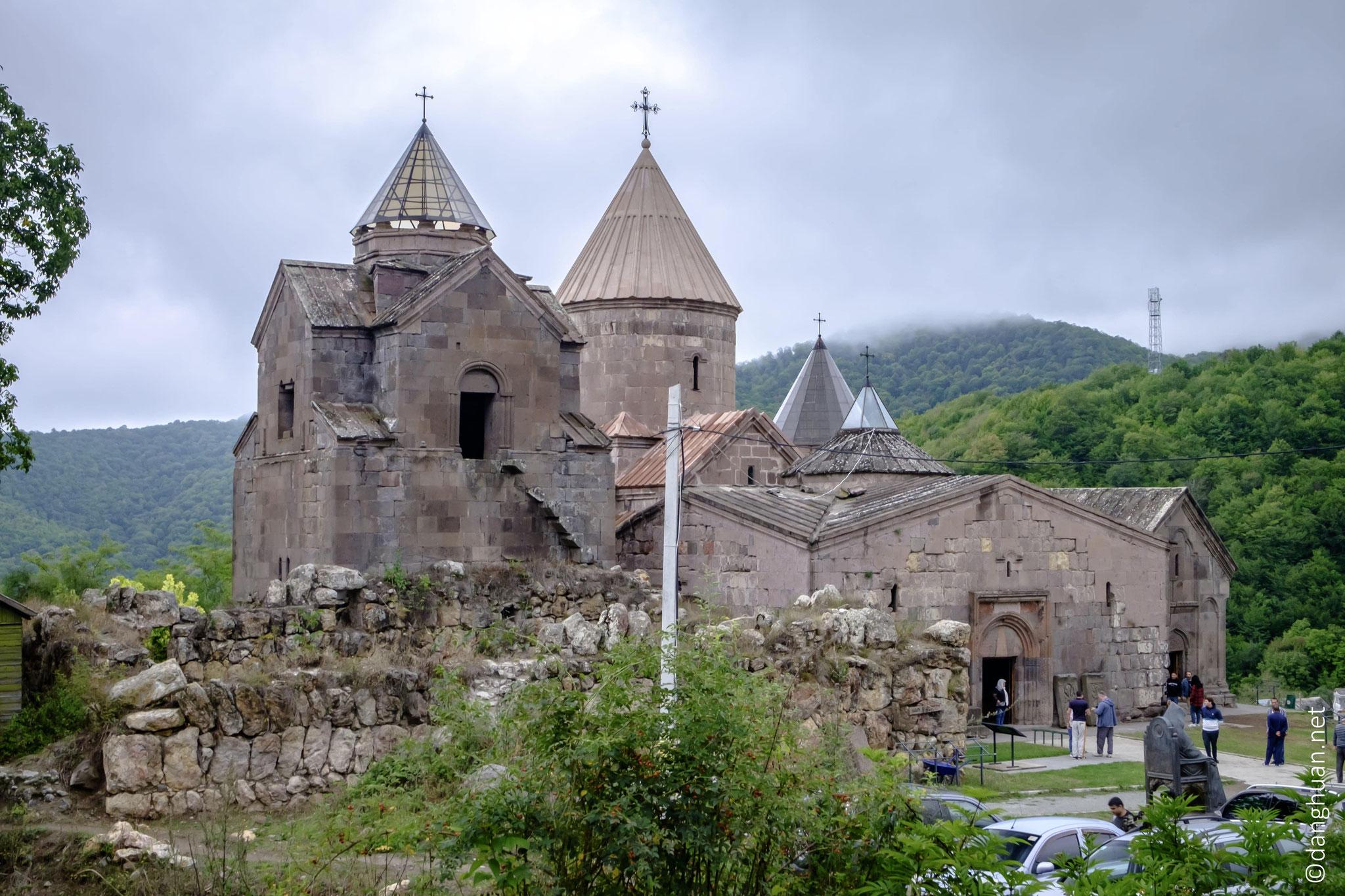 Le monastère Goshavank porte le nom de son fondateur,  Mkhitar Goch ...