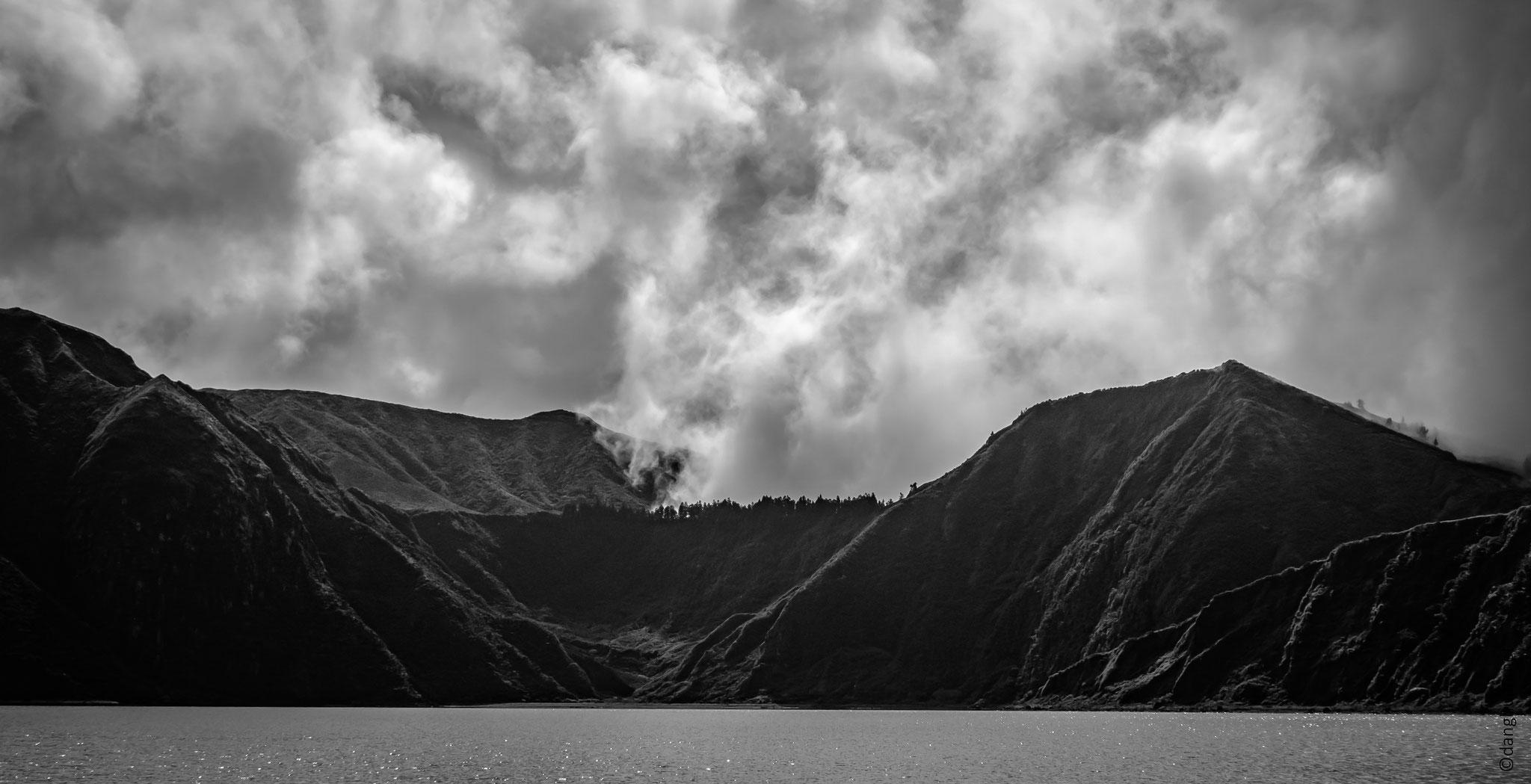 Lago do Fogo - randonnée autour du lac