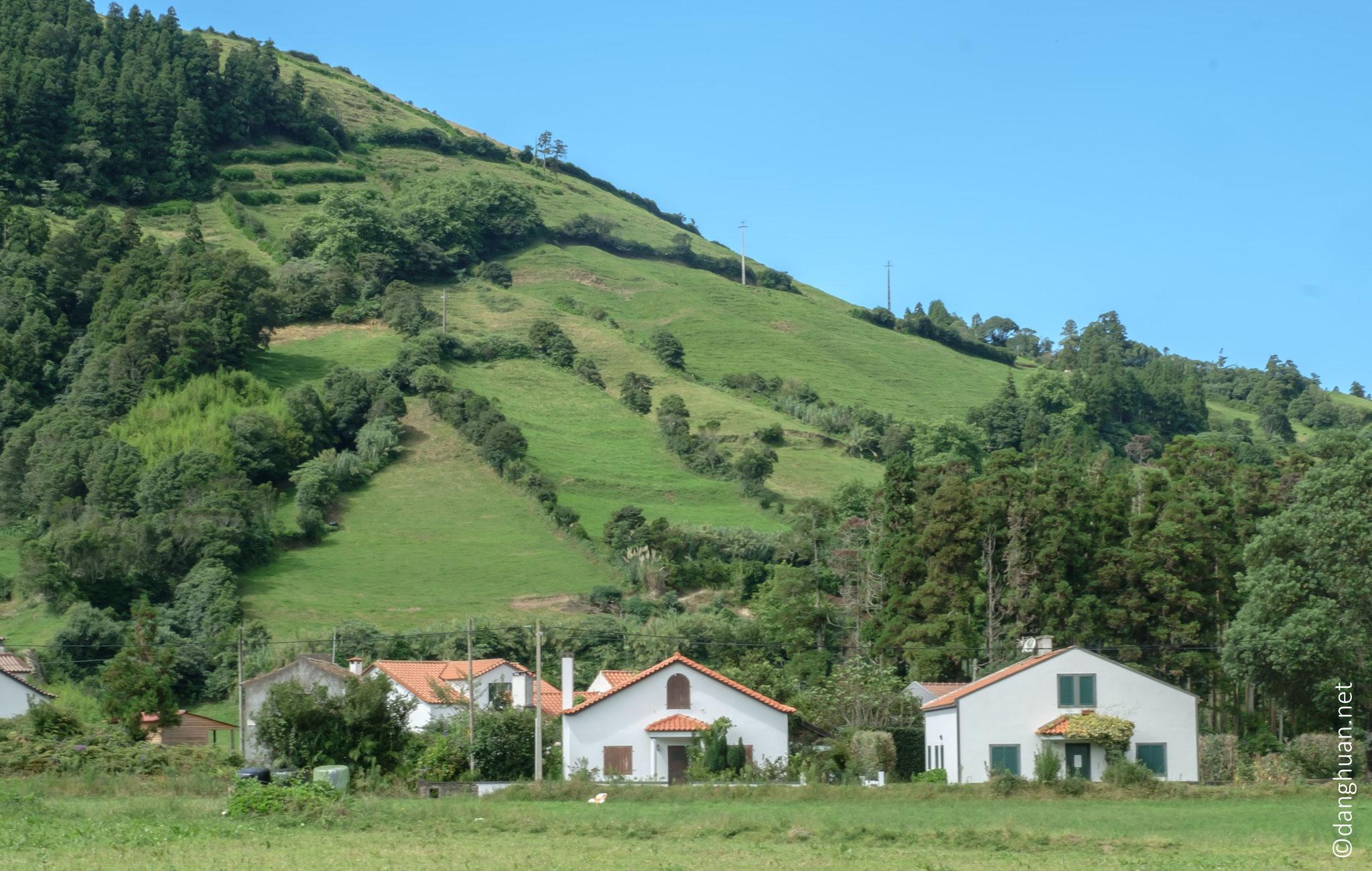 Caldeira de Sete Cidades- village