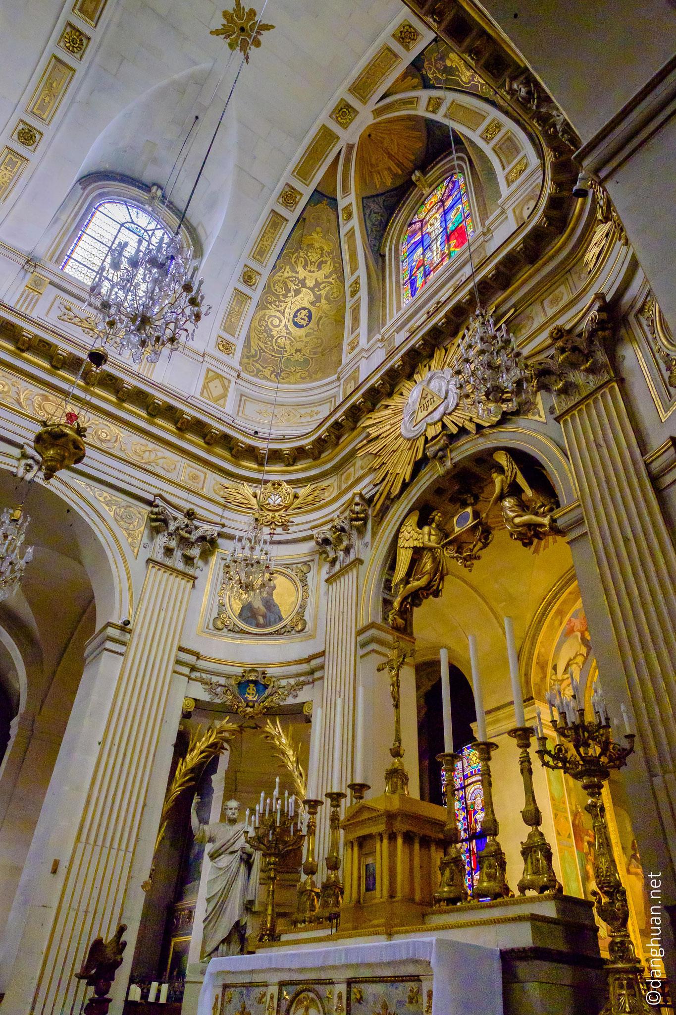 Eglise St Louis en l'île : la paroisse est actuellement une des plus petites du diocèse de Paris