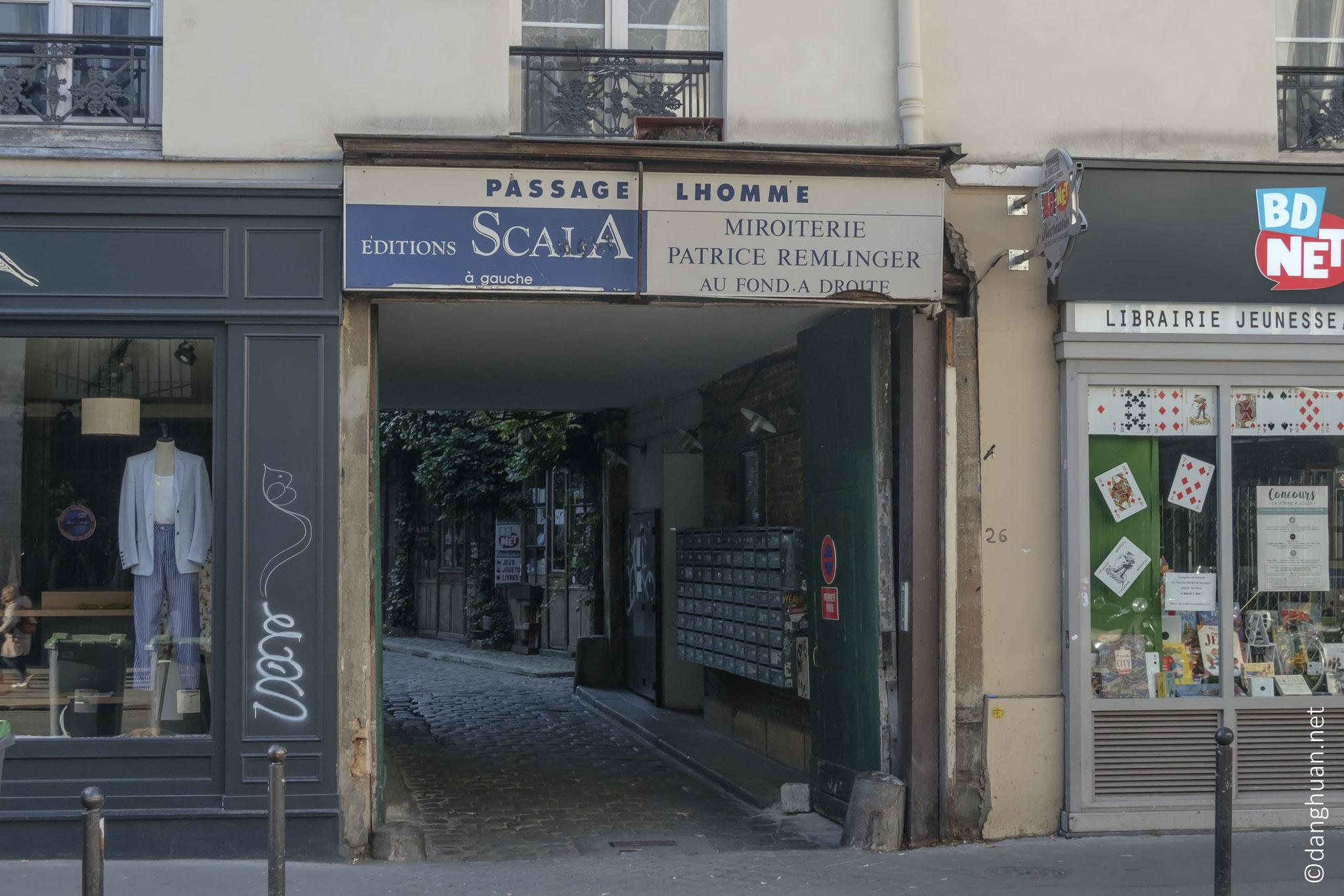 Passage Lhomme : reliant l'Avenue Ledru Rollin et la Rue de Charonne ...