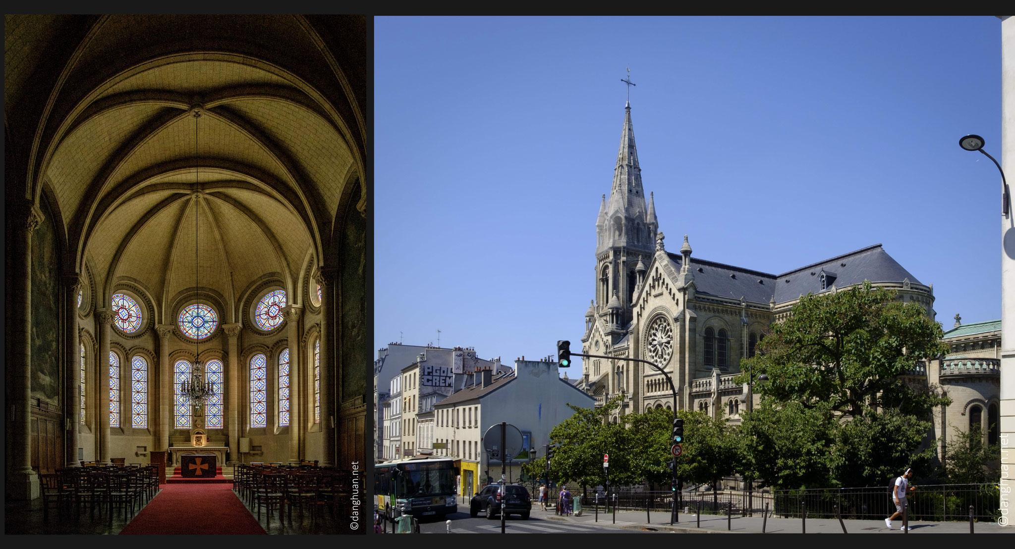 Eglise Notre Dame de la Croix - 1863-1880, de style roman