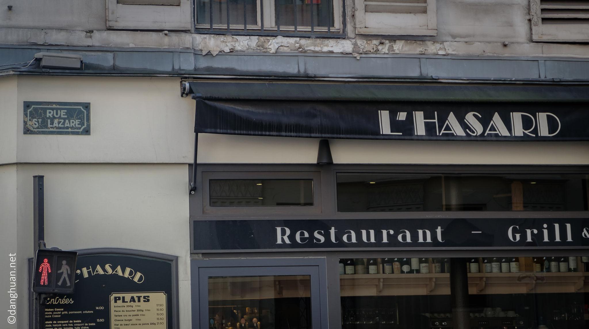 l'Hasard ou Lazare ?