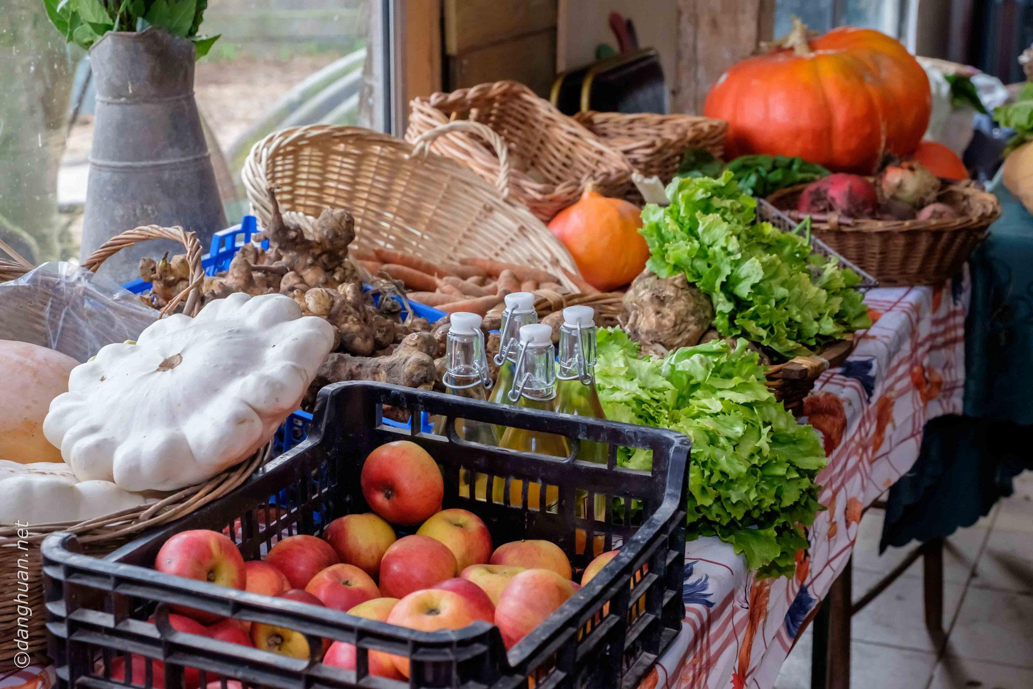 Les produits de la ferme