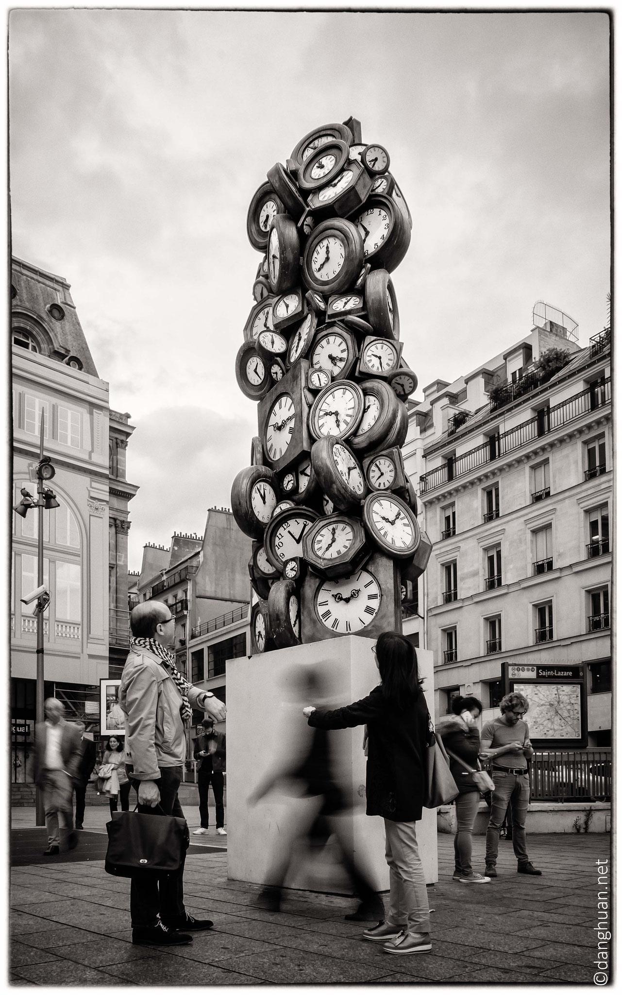 horloge Gare St-Lazare