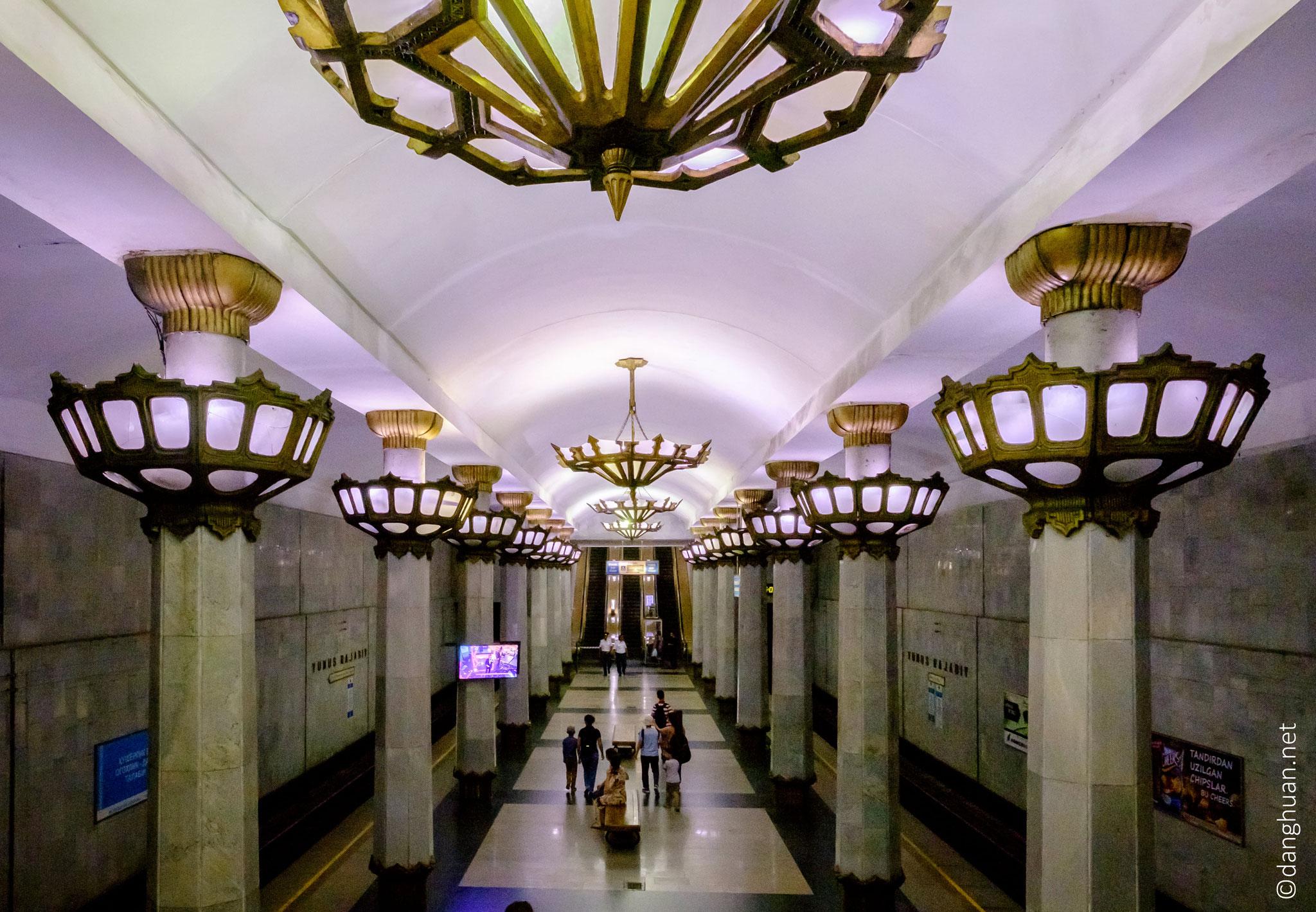métro de Tashkent