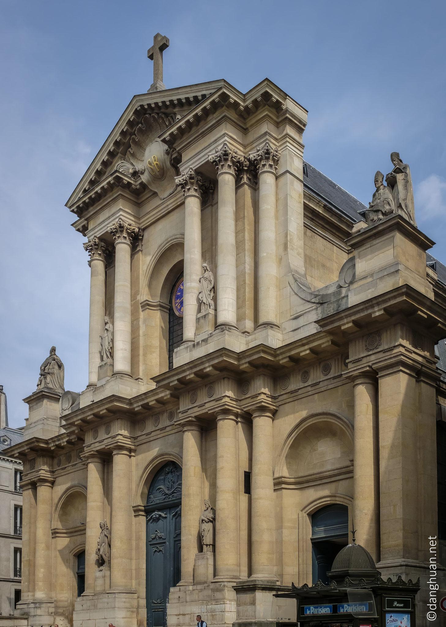 Paroisse St Roch - Paroisse d'un quartier aujourd'hui dépeuplé, mais qui fut habité du XVIIe siècle au XIXe siècle par une société riche et élégante ...