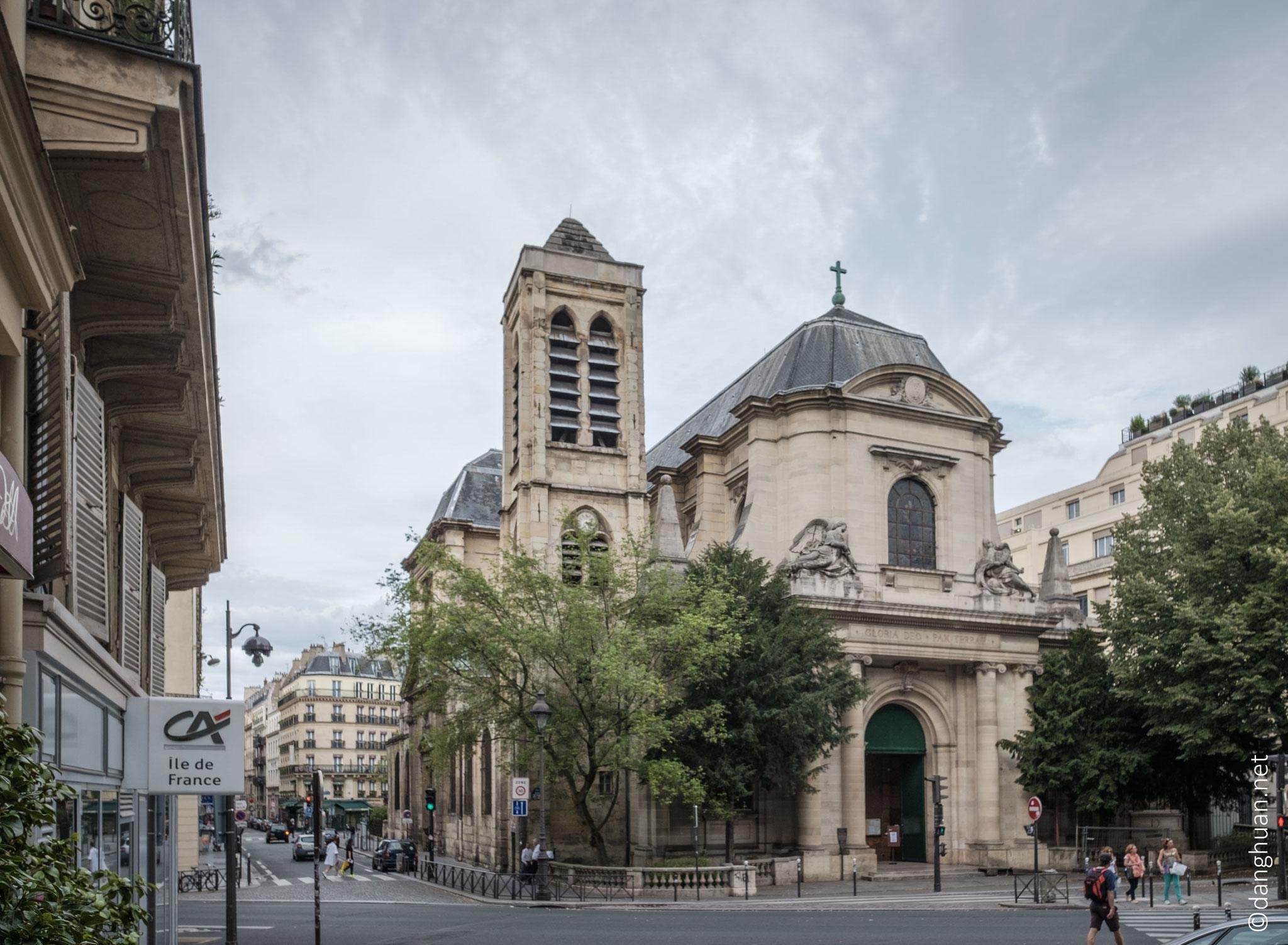 Eglise Saint Nicolas de Chardonnet : située à Paris au 23, rue des Bernardins, à l'angle de la rue Saint-Victor Paris V ...