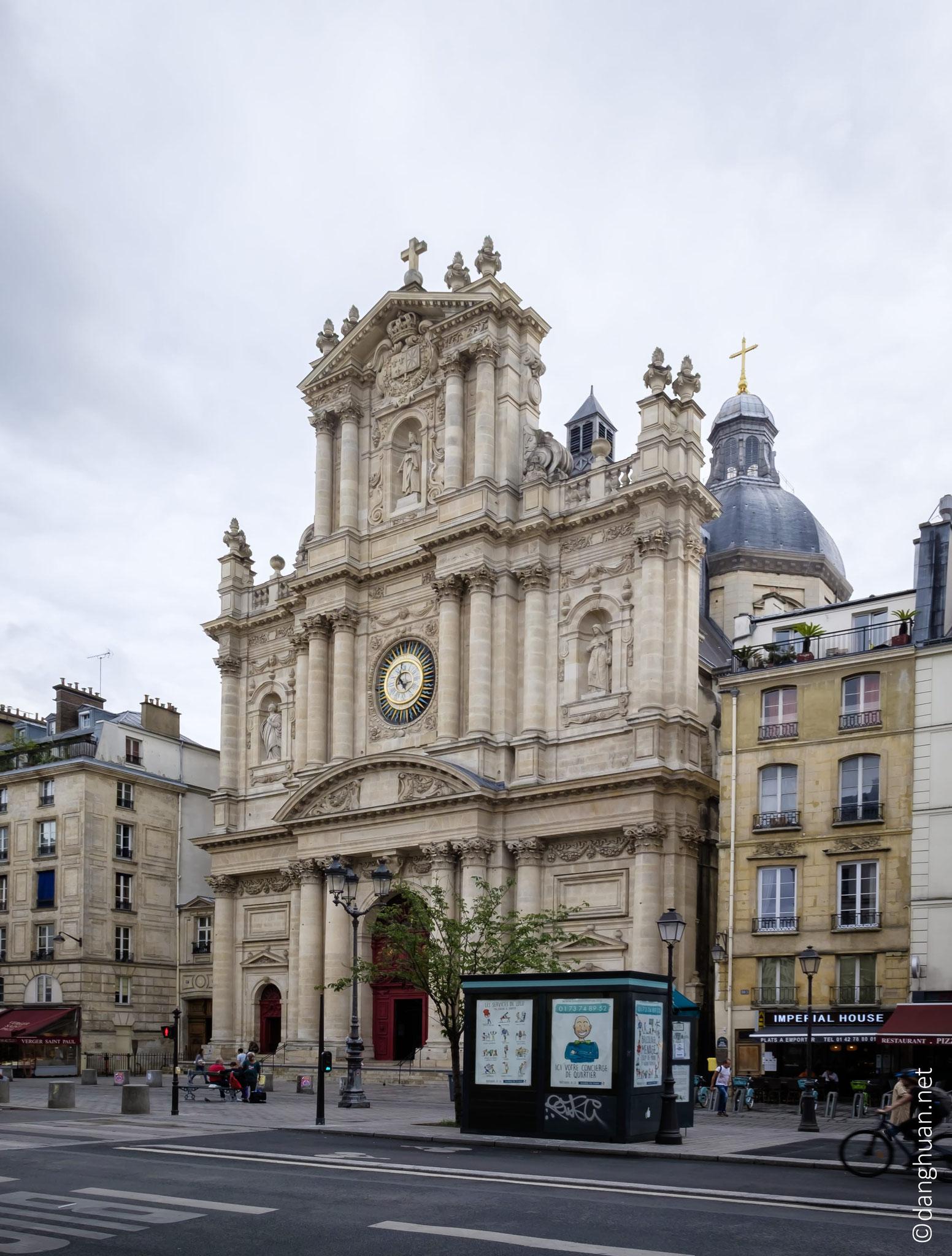 Eglise St Paul St Louis : située dans le quartier du Marais à Paris IV...