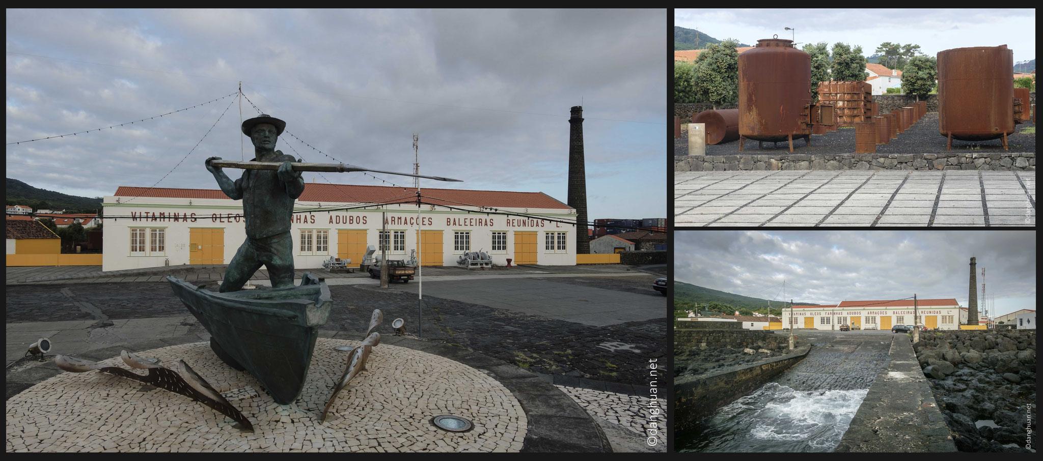 Sao Roque - village de pêche de cachalot dont l'huile était essentiellement utilisée pour l'éclairage des capitales européennes à l'époque