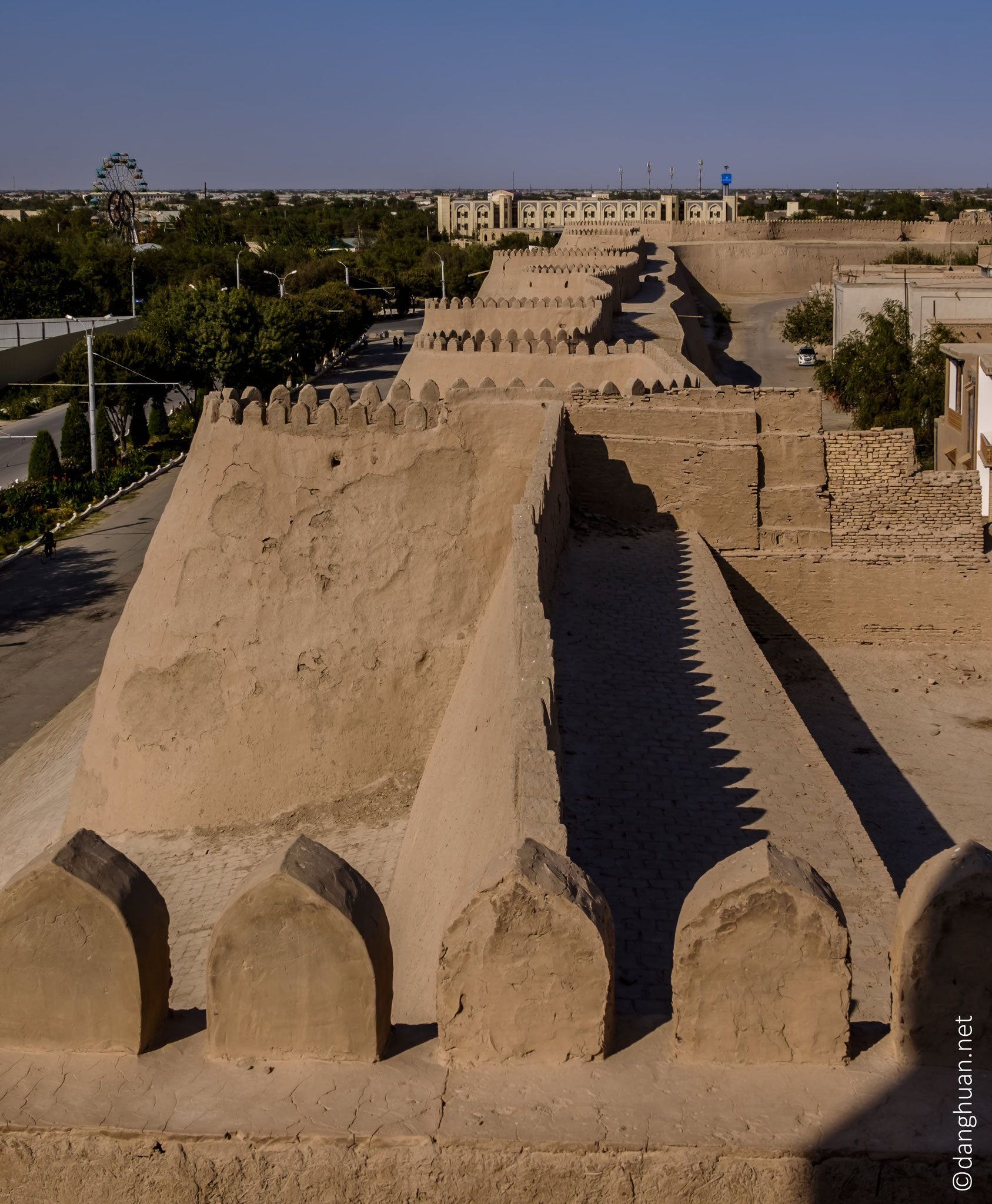 Remparts de la citadelle Itchan Kala