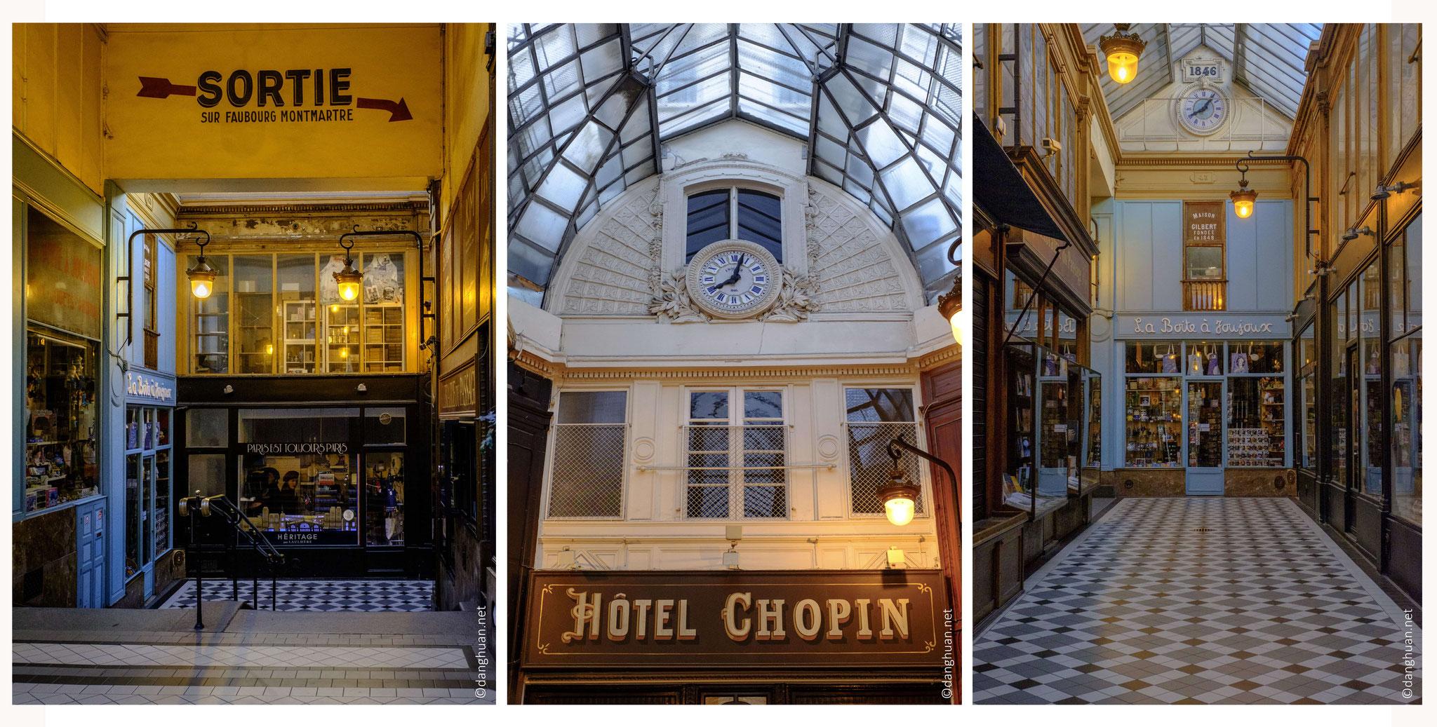 et l'hôtel Chopin.