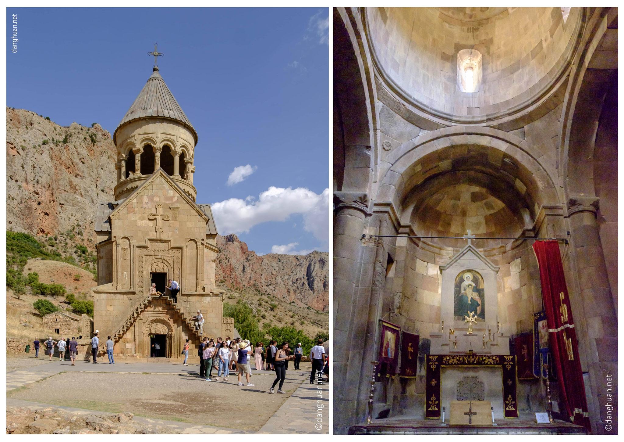 L'église principale du monastère, Saint-Jean-le-Précurseur (Sourp Karapet)...