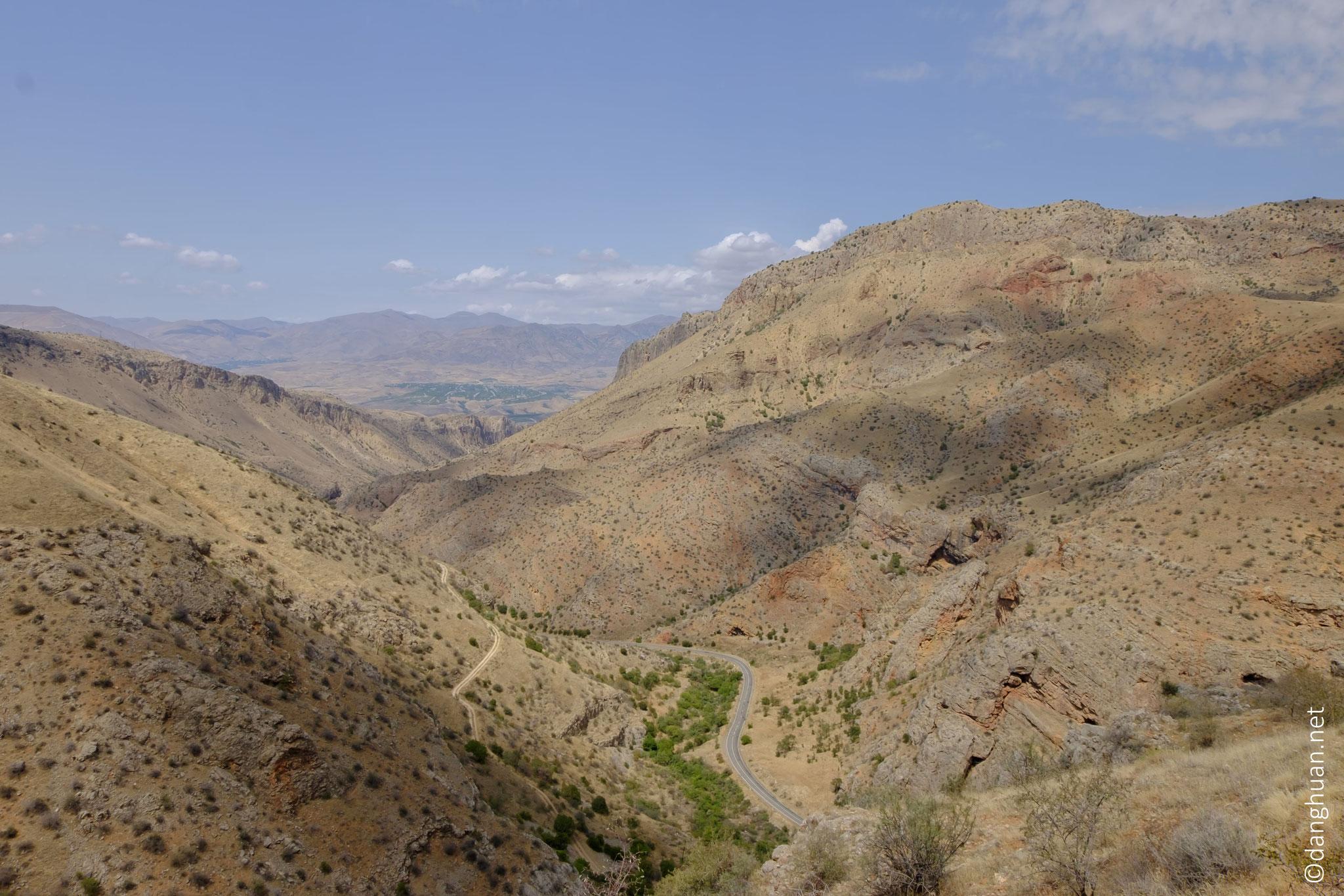 le site, perché à 1 550 m