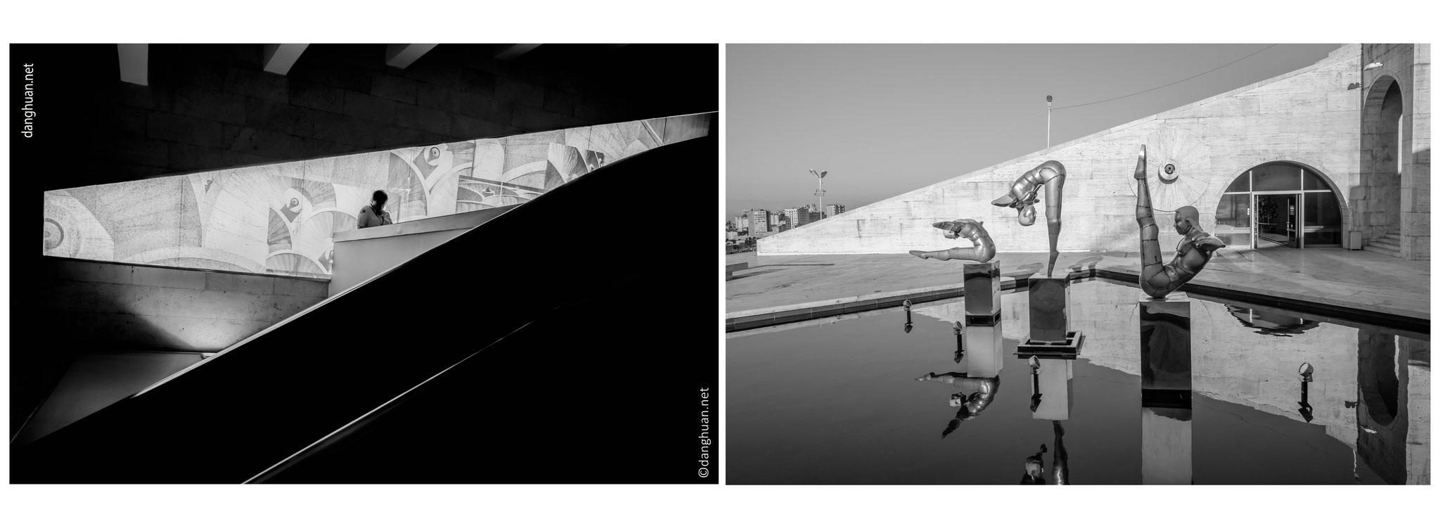 ... qui abrite depuis 2009 un centre d'art contemporain, le Cafesjian Center of Arts