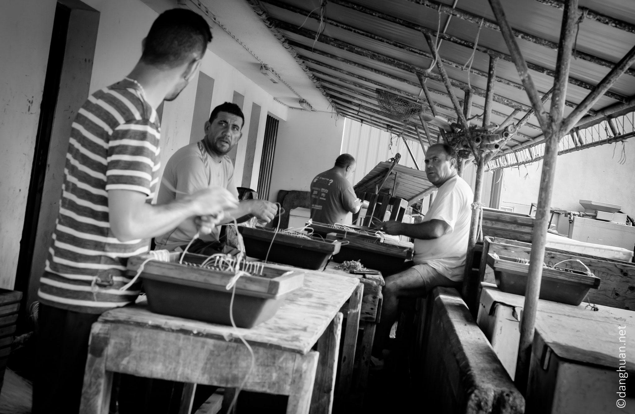 le village de pêcheurs de Ribeira Quente