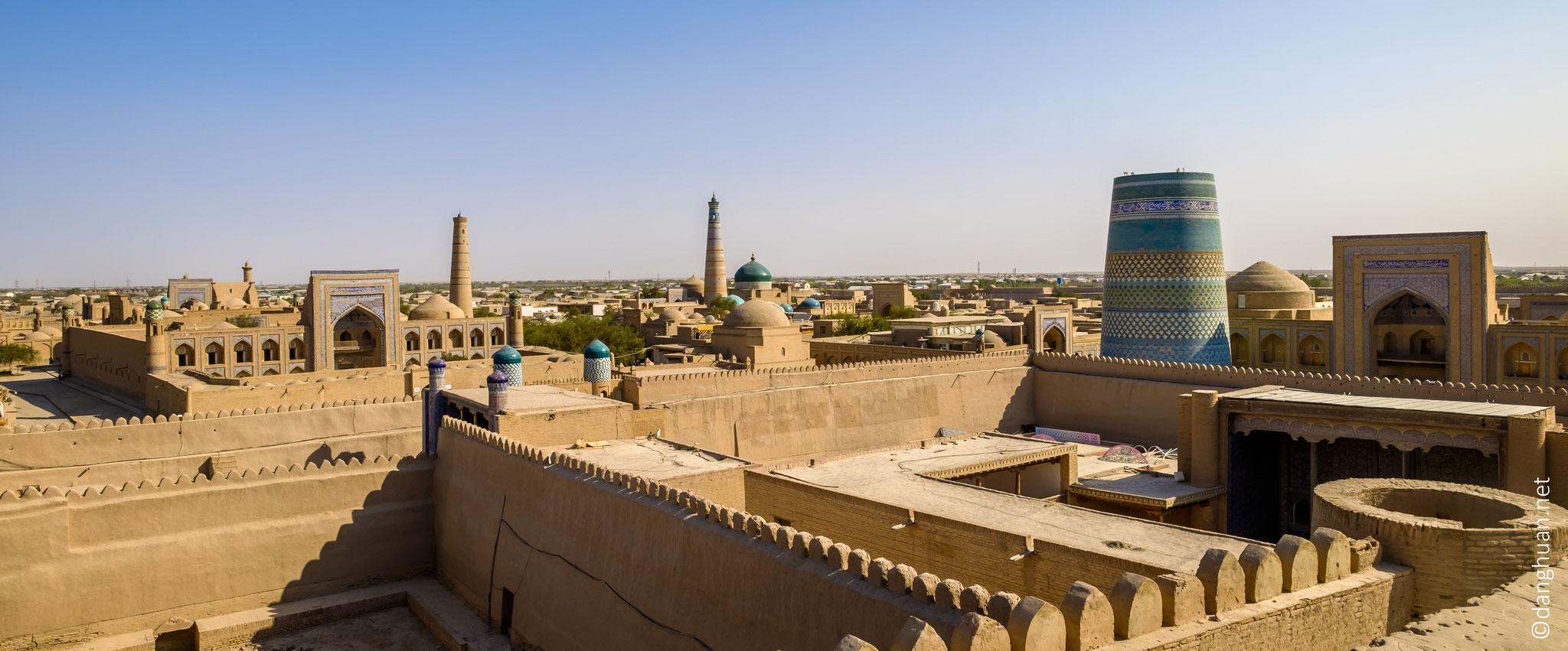 Panorama sur la citadelle