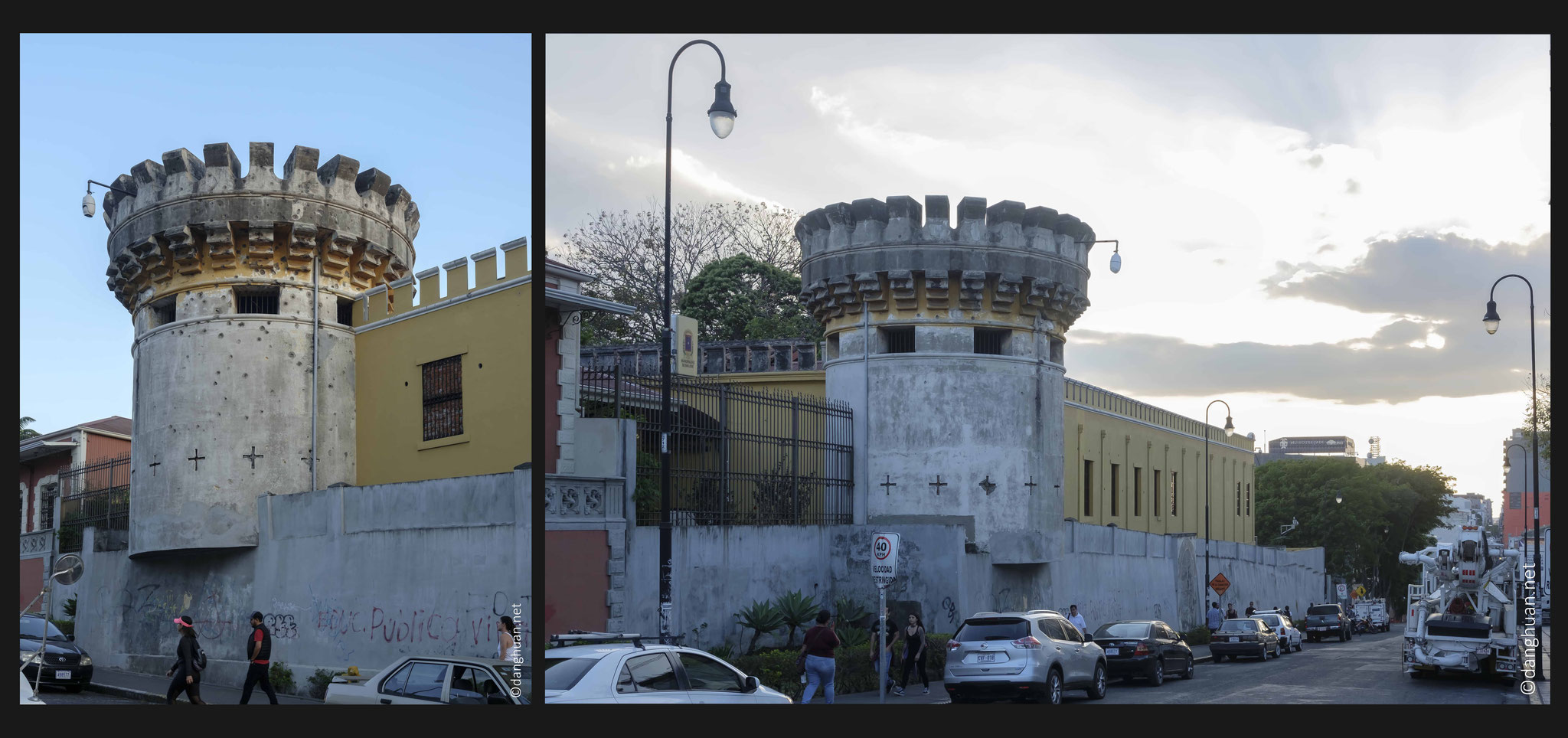 l'ancienne forteresse de San José où  l'armée fut abolie en 1848