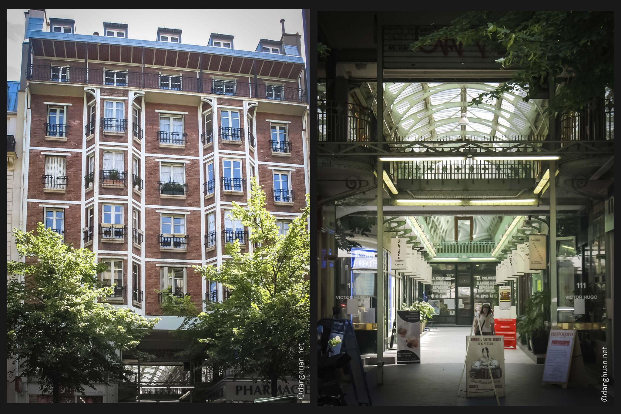 Architecte : Henri Sauvage - 111 Av.VictorHugo - Cité Argentine-  1905