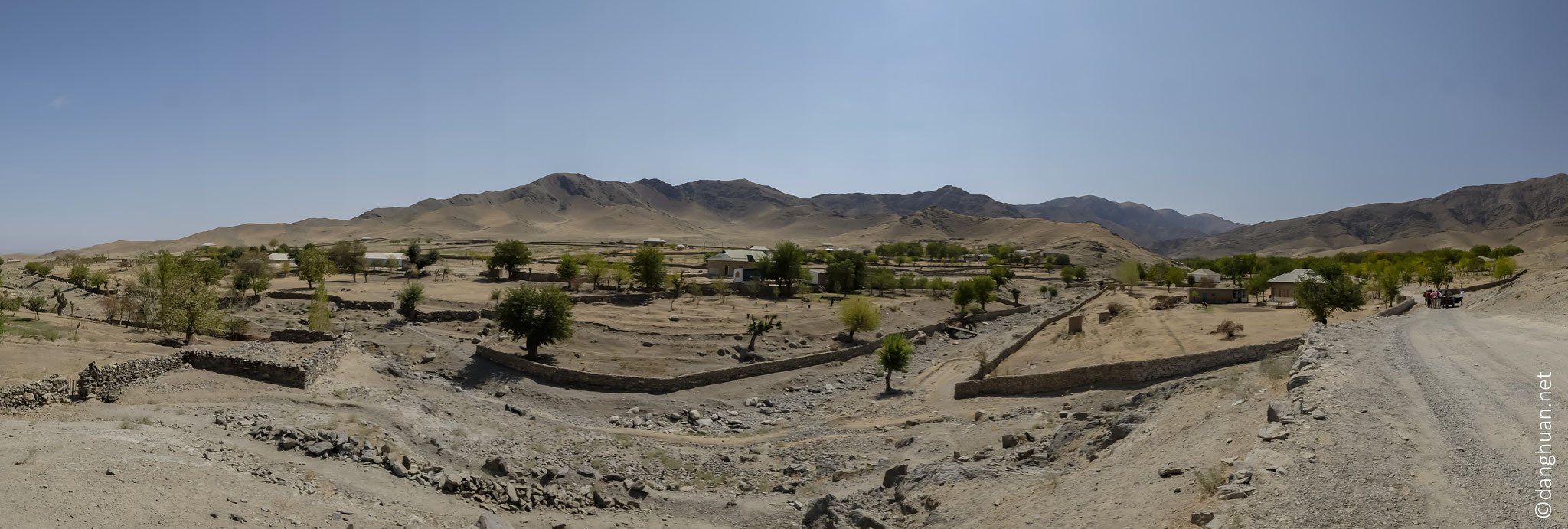 Randonnée autour du village Sintab