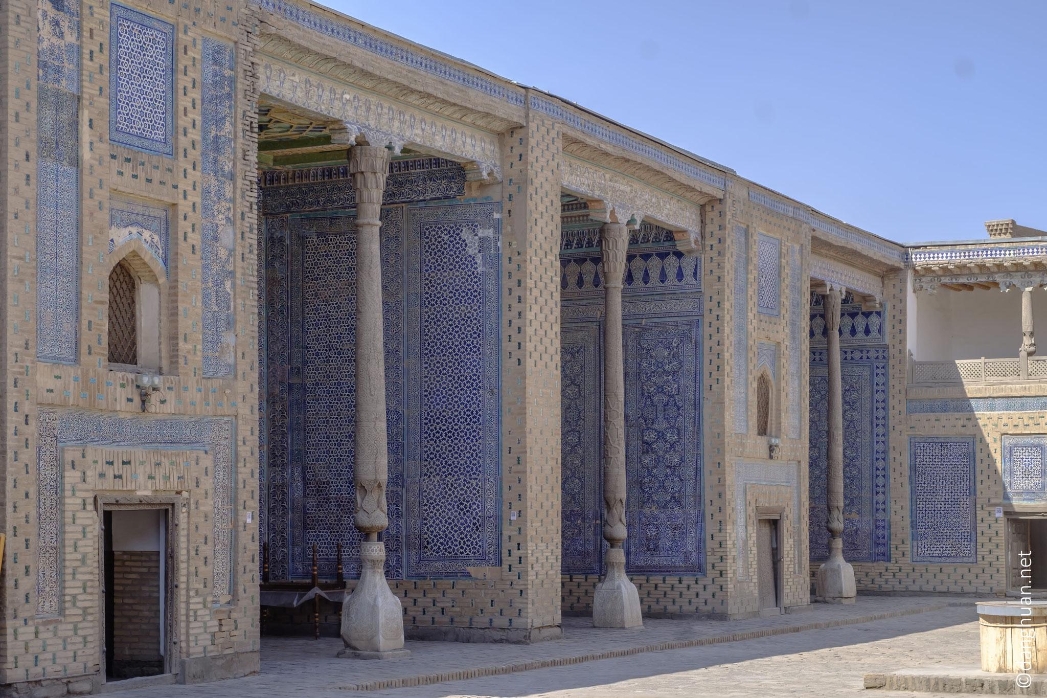 le Palais de Tosh-Khovli ou le Harem, construit entre 1832 et 1841,  comportait plus de 150 pièces