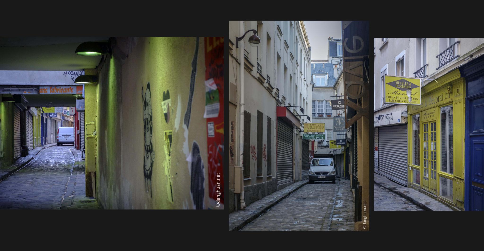 Aujourd'hui, héritière de la tradition du faubourg, cette voie accueille encore de nombreux marchands de meubles