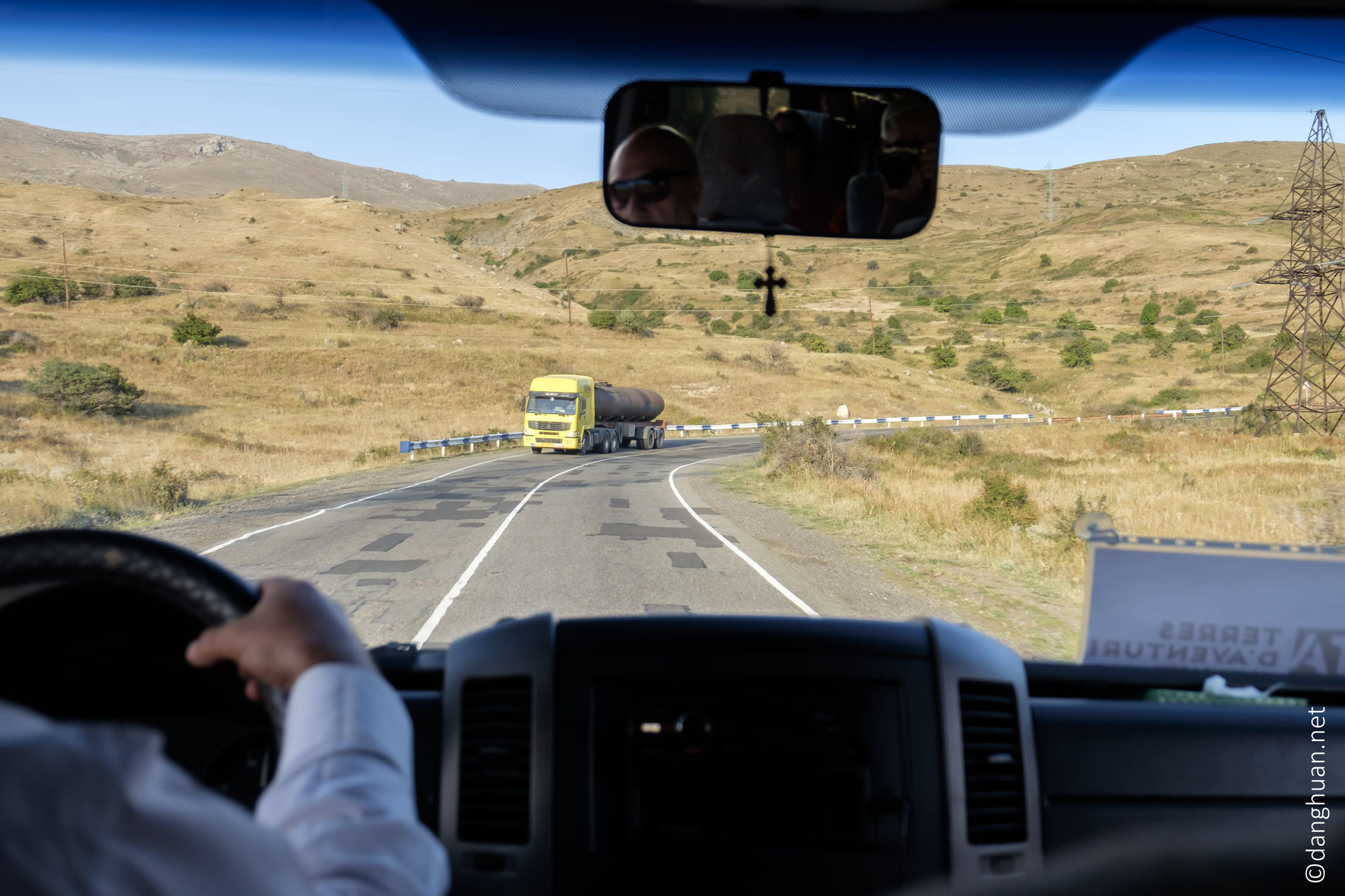 camion citerne en provenance d'Iran