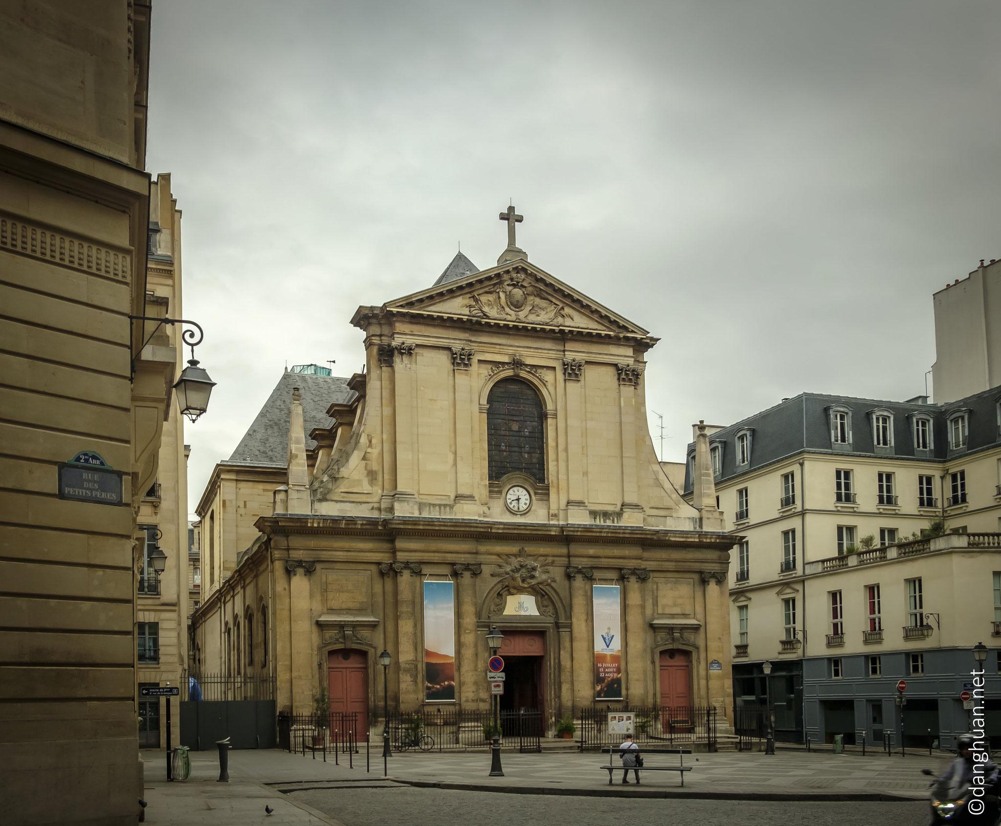 Basilique Notre Dame des Victoires - édifiée en 1629 sous le règne de Louis XIII