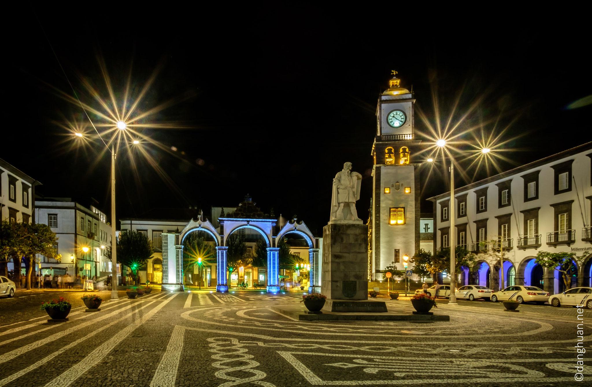 Ponta Delgada - capitale administrative et le centre économique le plus important de la région autonome des Açores