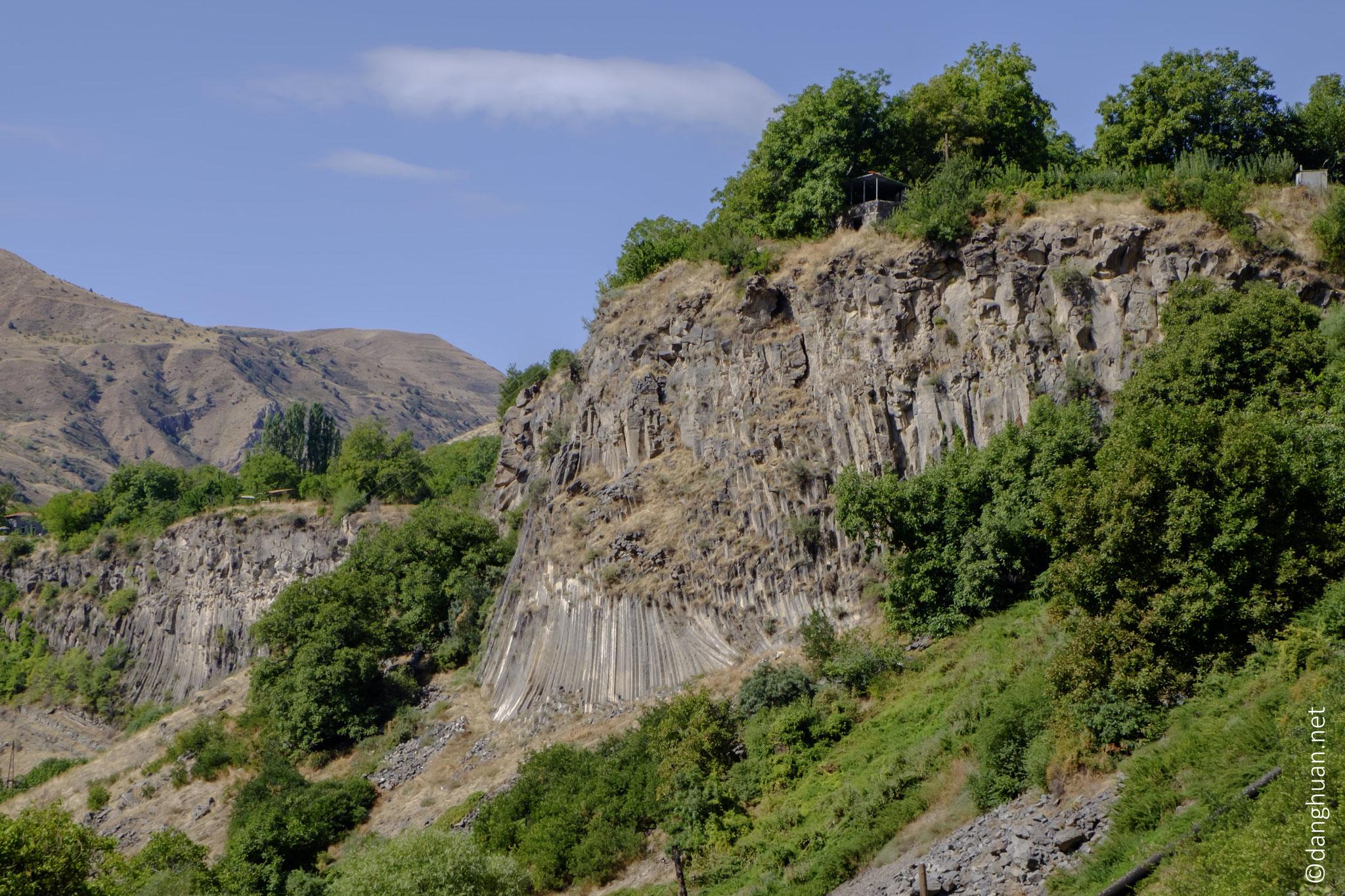 Paysages typiques des hauts plateaux arméniens