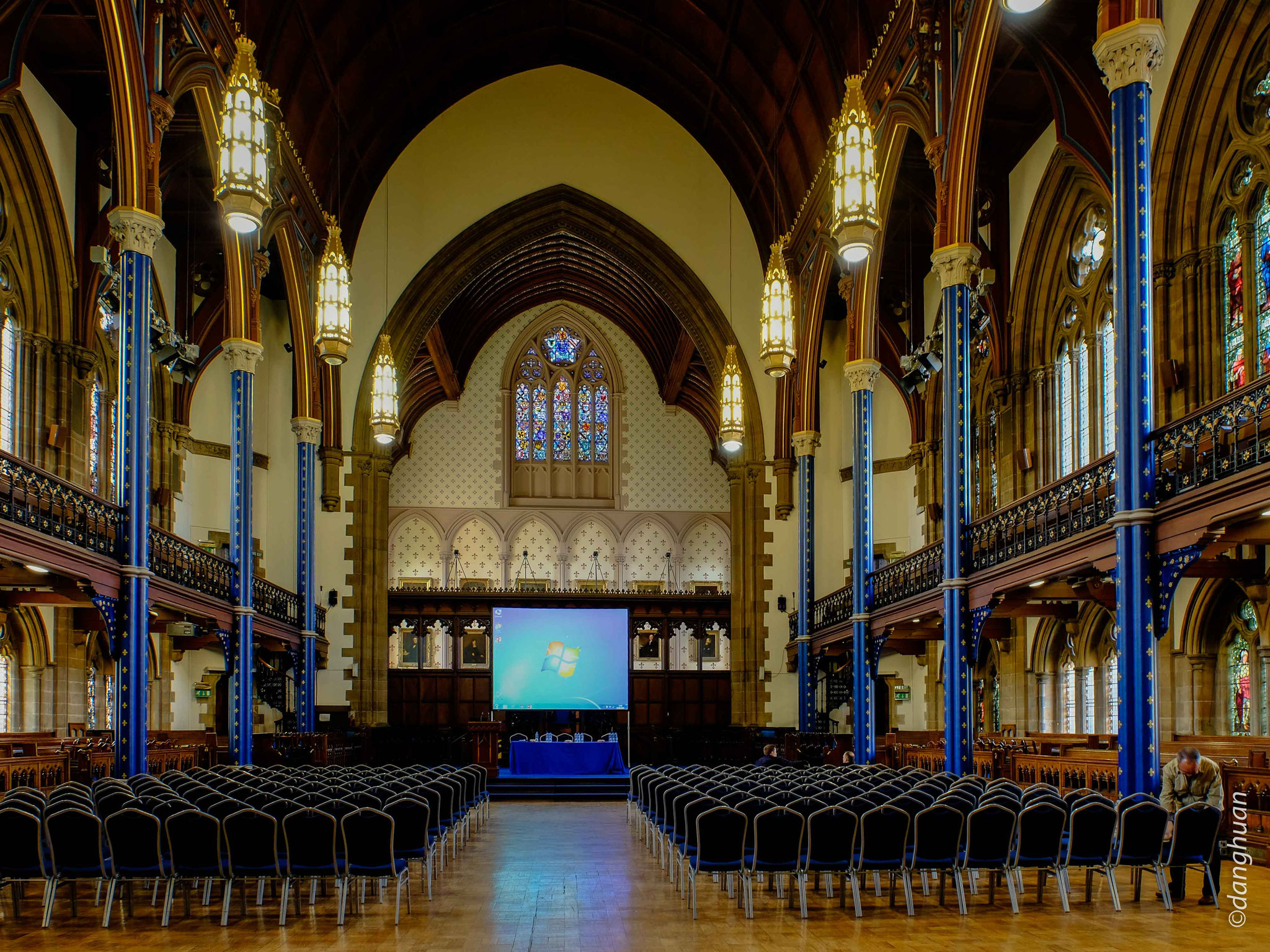 Université de Glasgow - salle de conférence