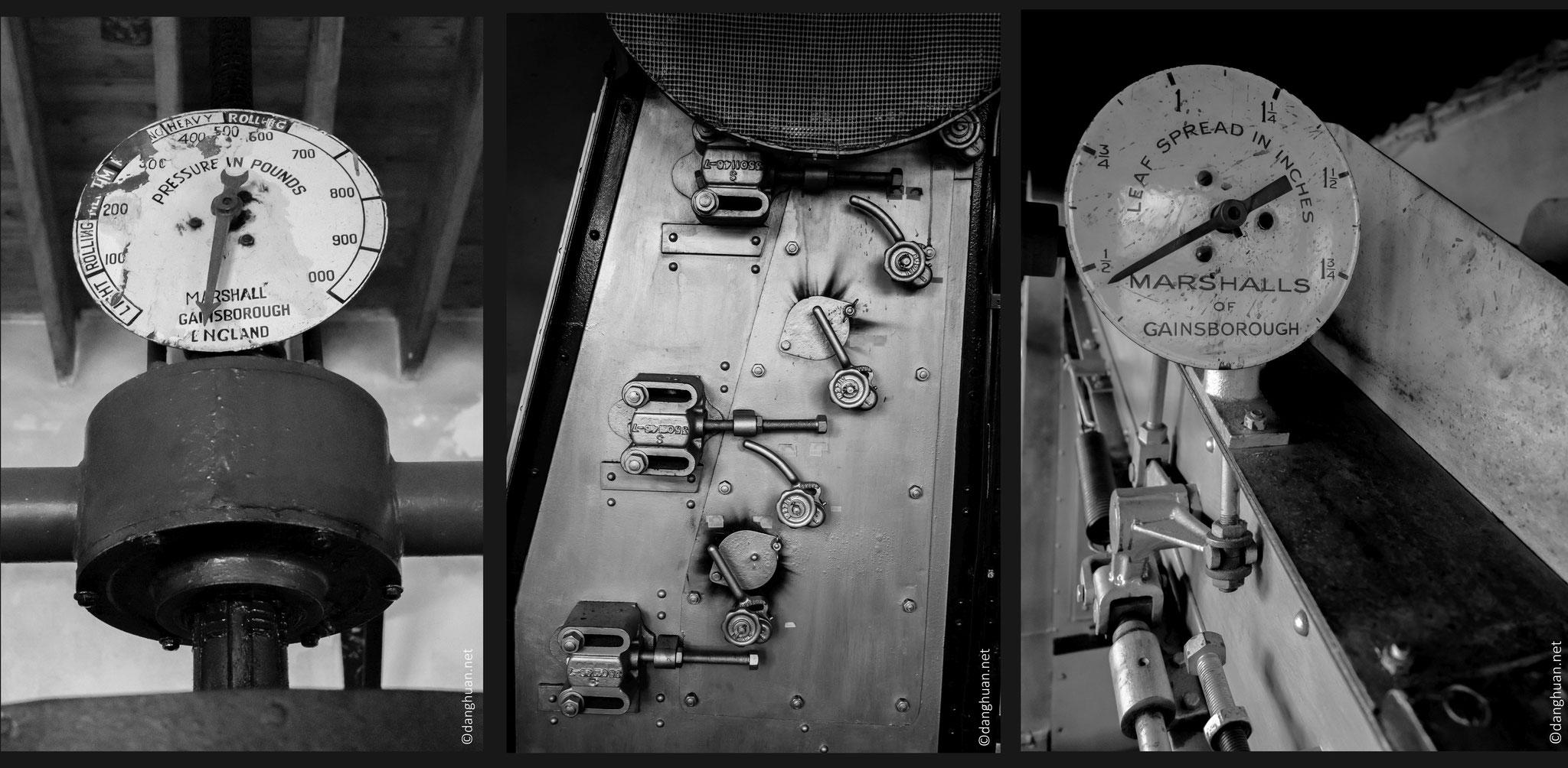 l'usine fonctionne toujours avec les vielles machines anglaises